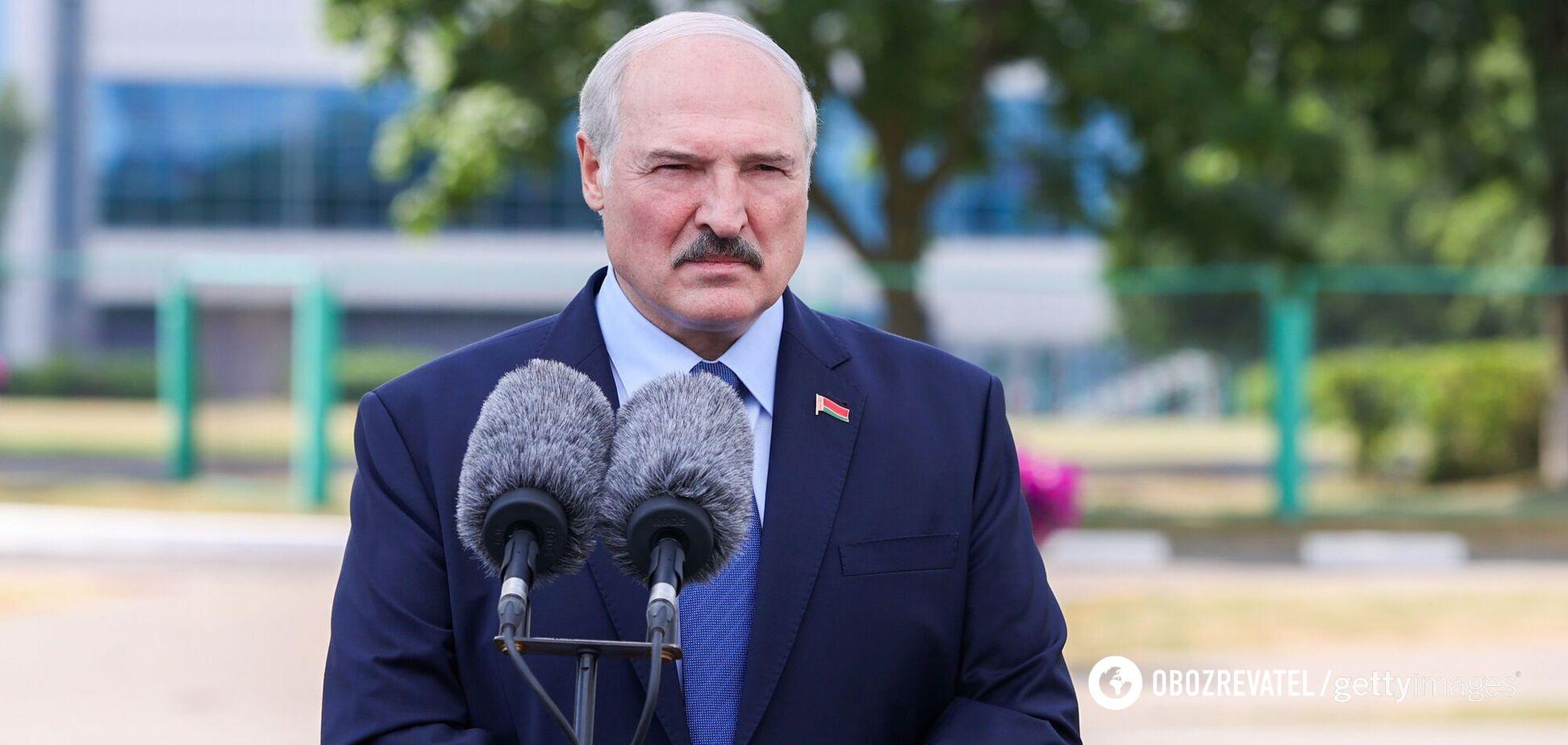 Самопроголошений президент Білорусі Олександр Лукашенко