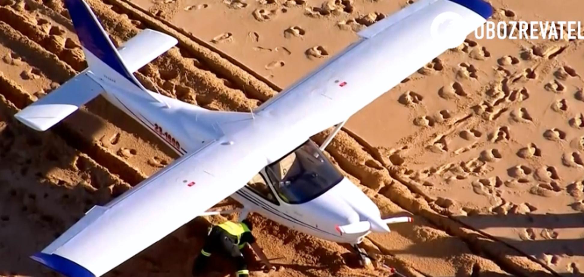Неймовірна удача: літак аварійно сів на австралійському пляжі