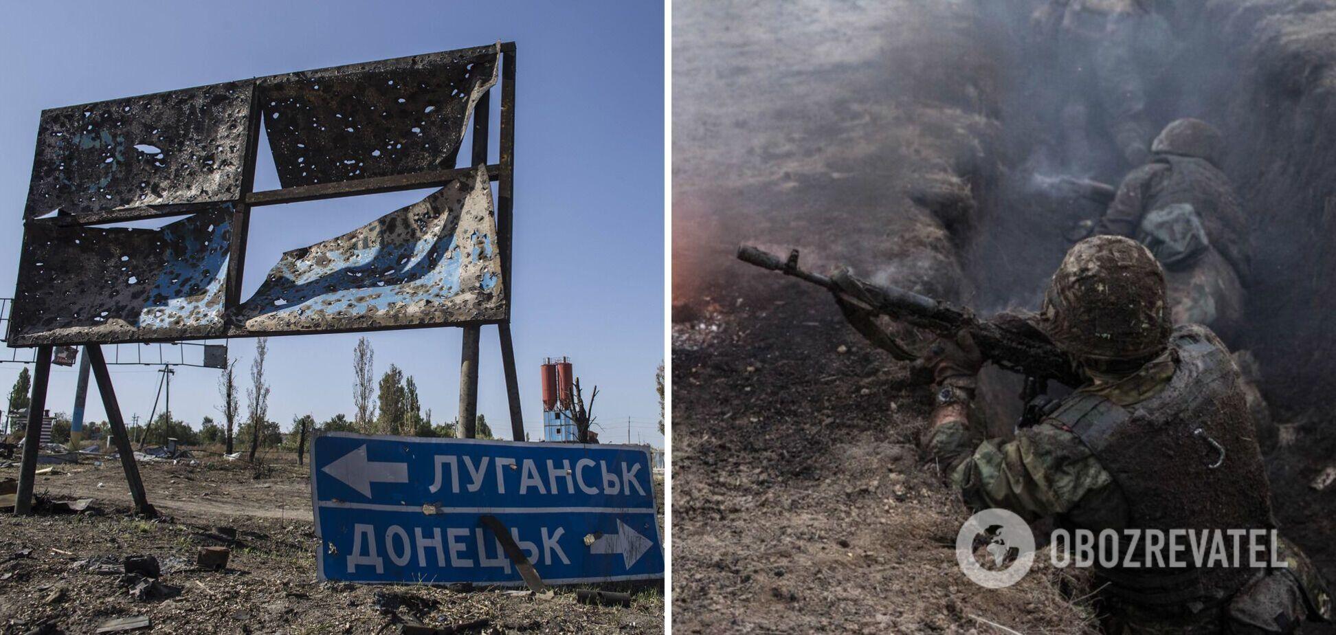 Під час обстрілів найманців РФ на Донбасі поранено воїна ЗСУ і мирного жителя