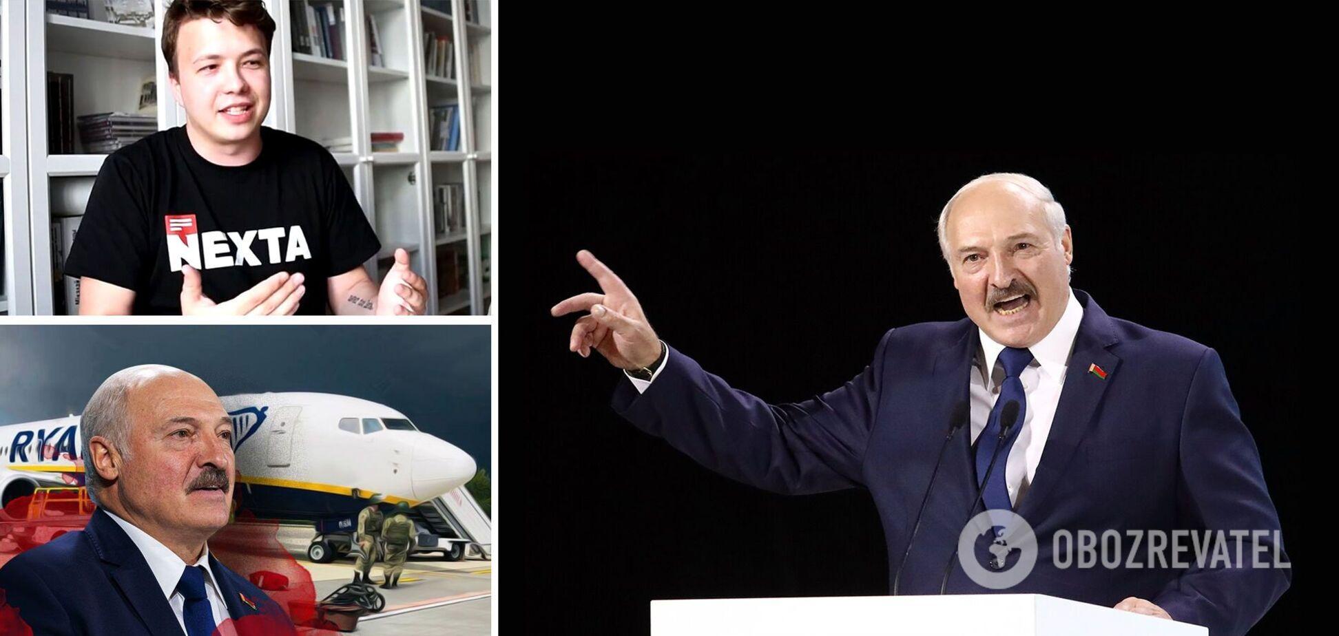Лукашенко обзивав Протасевича та лякав Захід світовою війною: що наговорив 'президент' у зверненні
