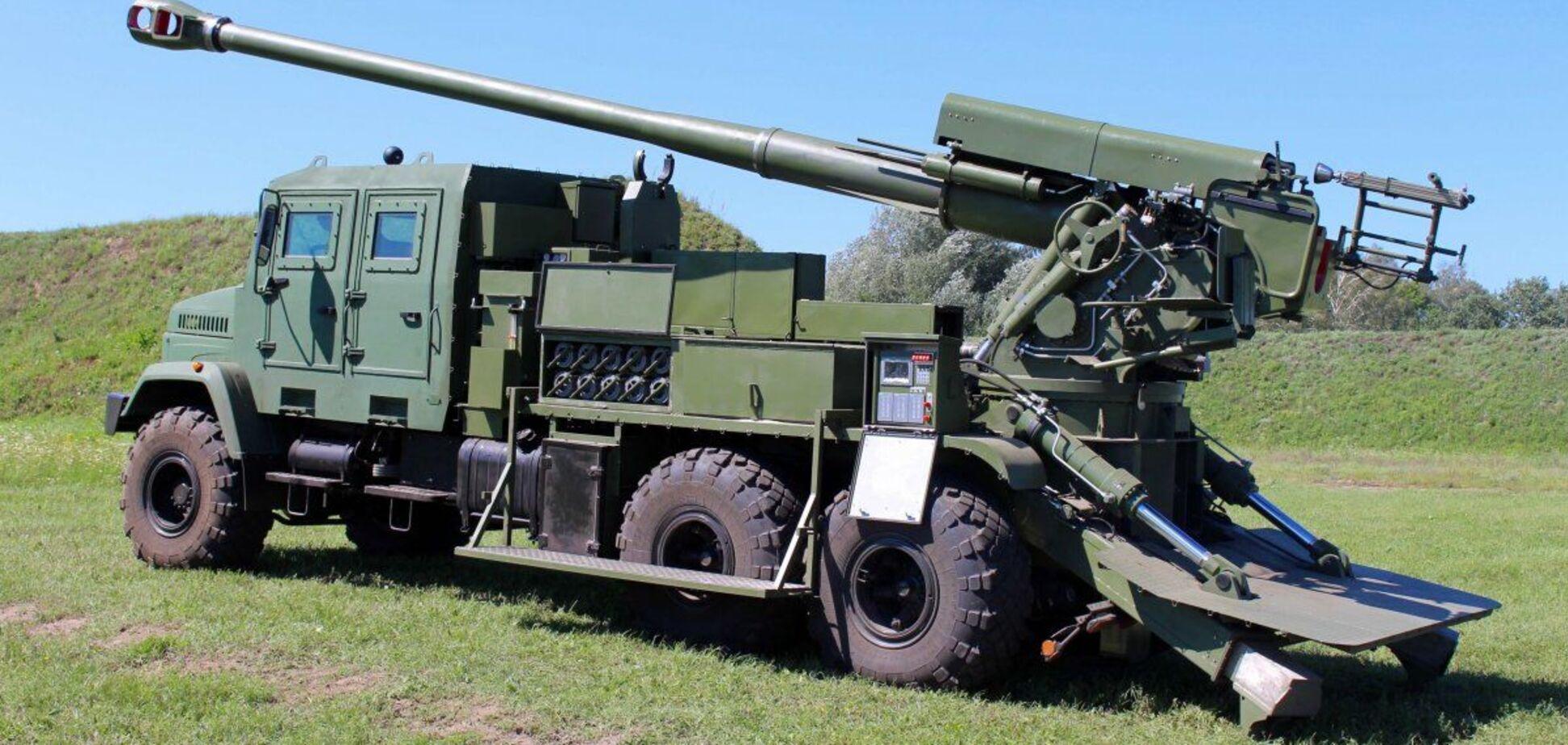 В Украине начались первые испытания САУ 'Богдана'. Фото