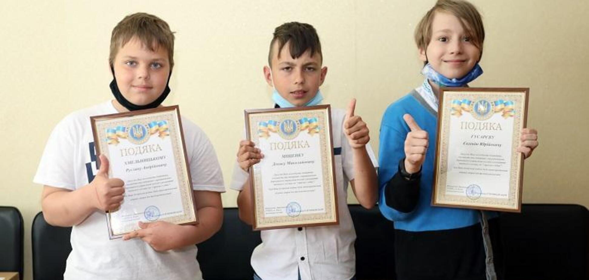 В Киеве трое школьников помогли полицейским найти грабителя