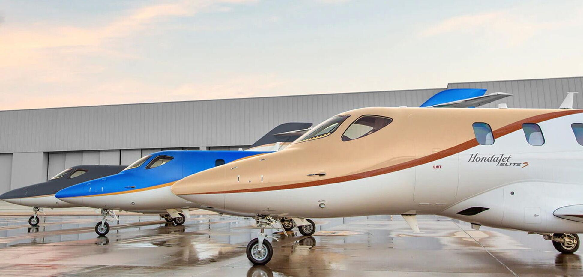 Honda презентовала новый реактивный самолет HondaJet