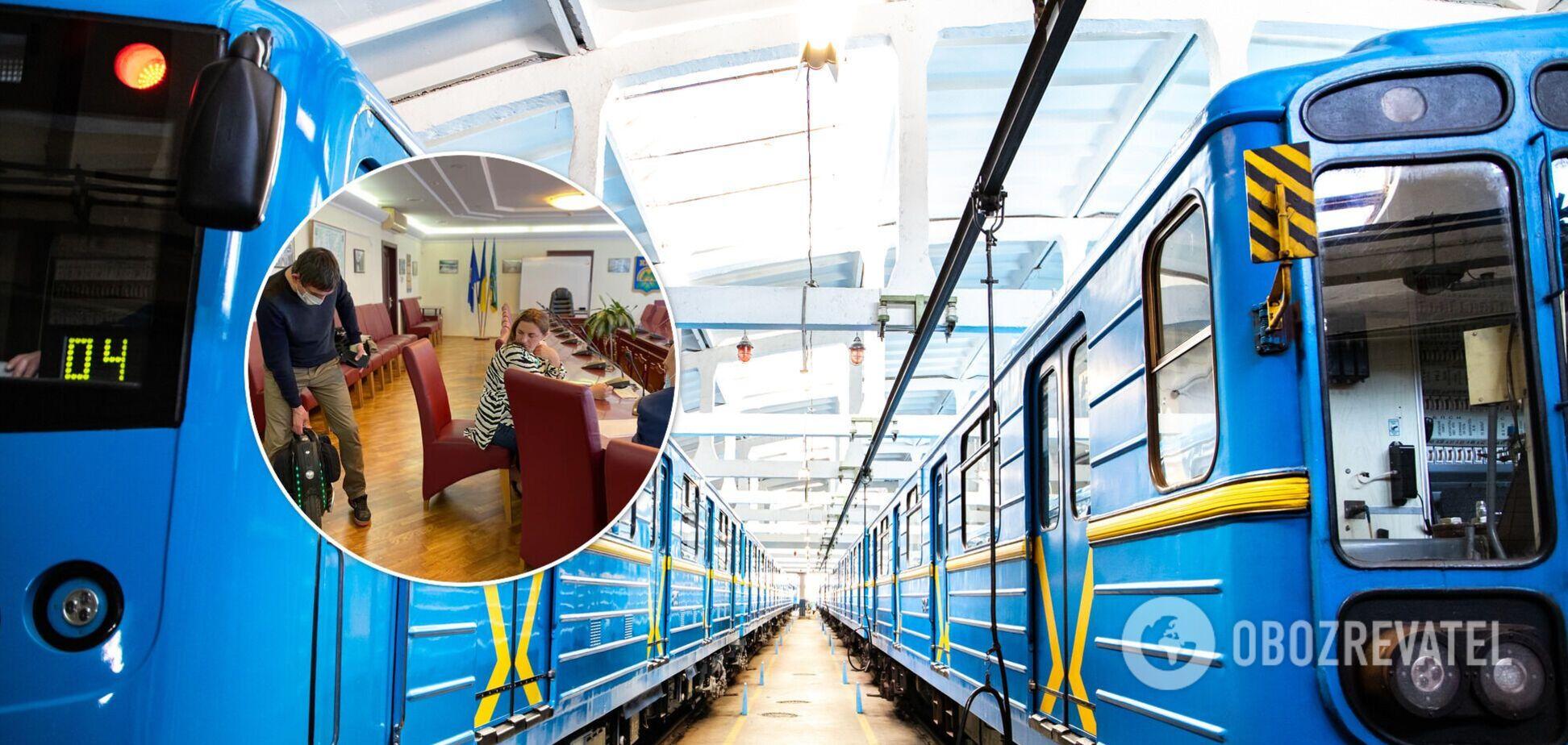 У київському метро змінять правила перевезення моноколіс та самокатів