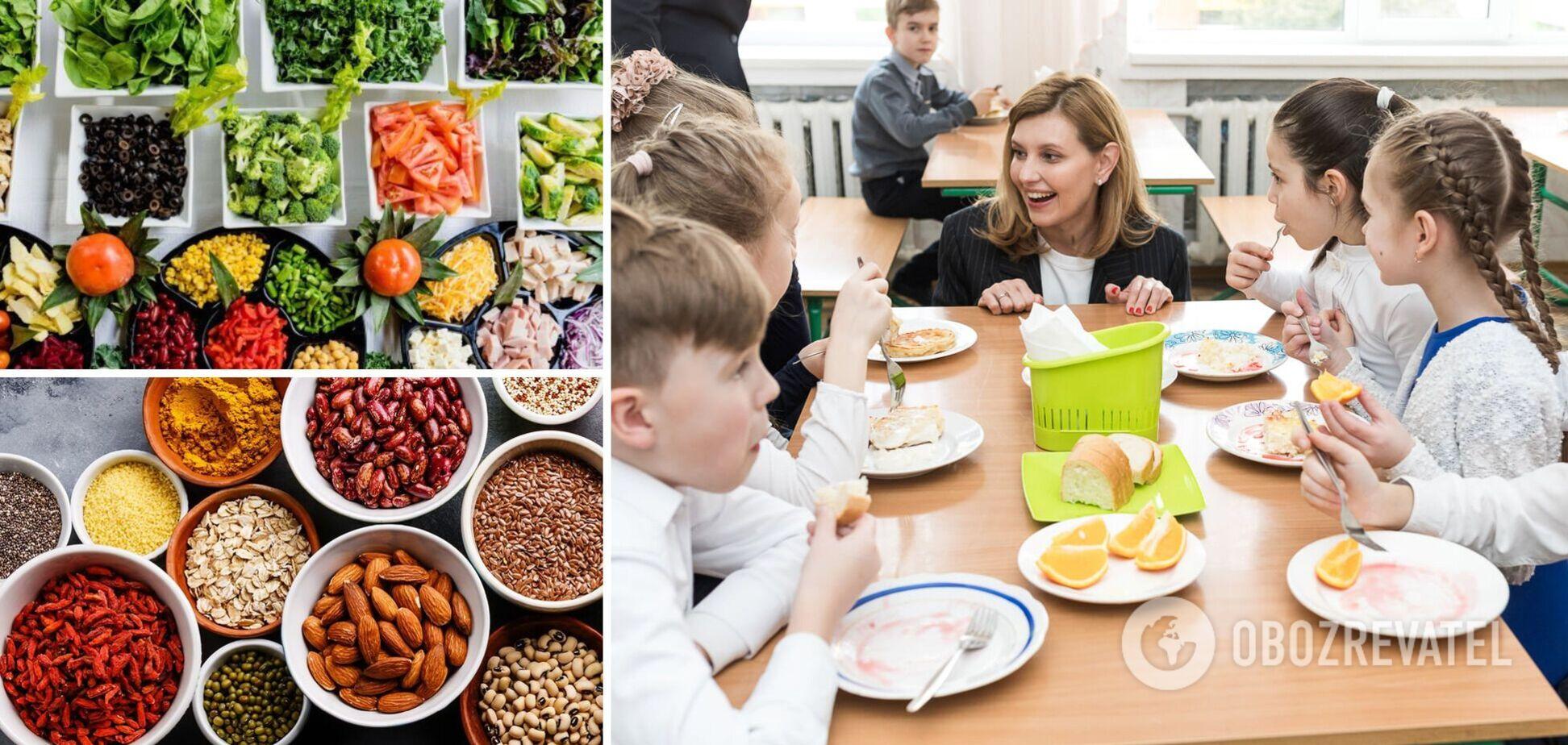 Мінестроне, шулики з маком і жодних сосисок: розповідаємо про основні зміни у шкільному харчуванні