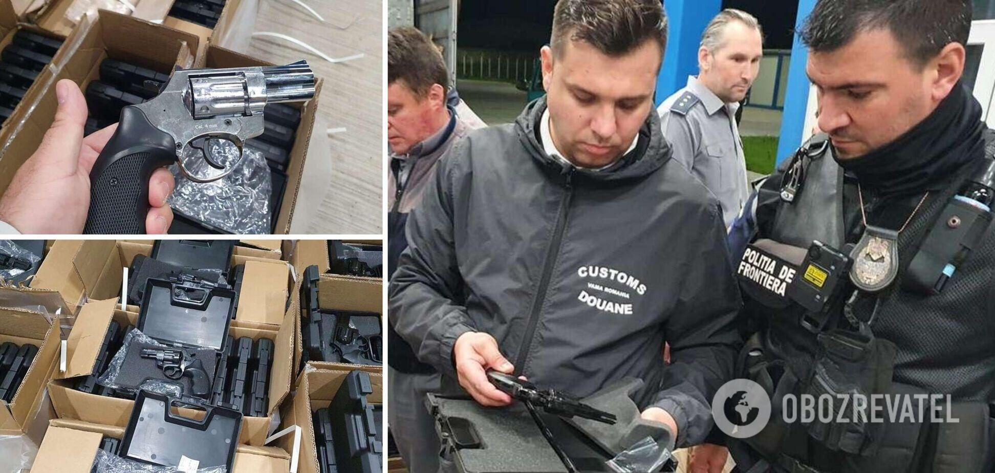 Оружие было спрятано в грузовике с мебелью