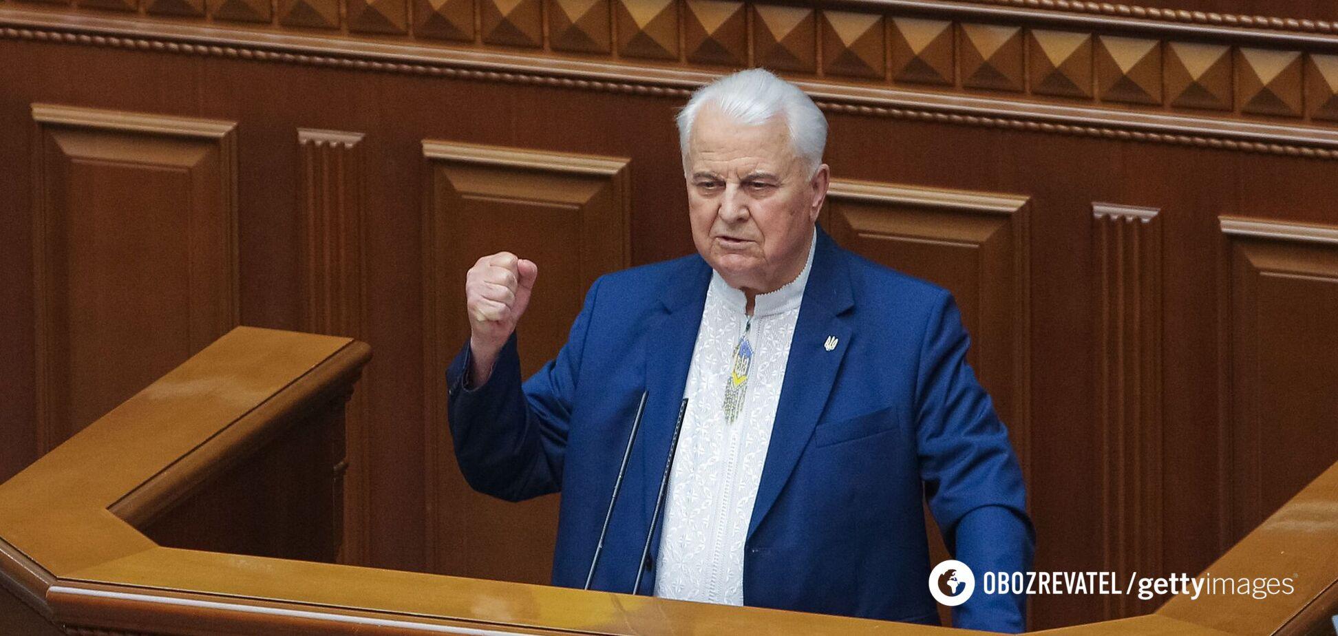 Кравчук: до Мінська неможливо потрапити, буде знайдено нове місце для переговорів щодо Донбасу