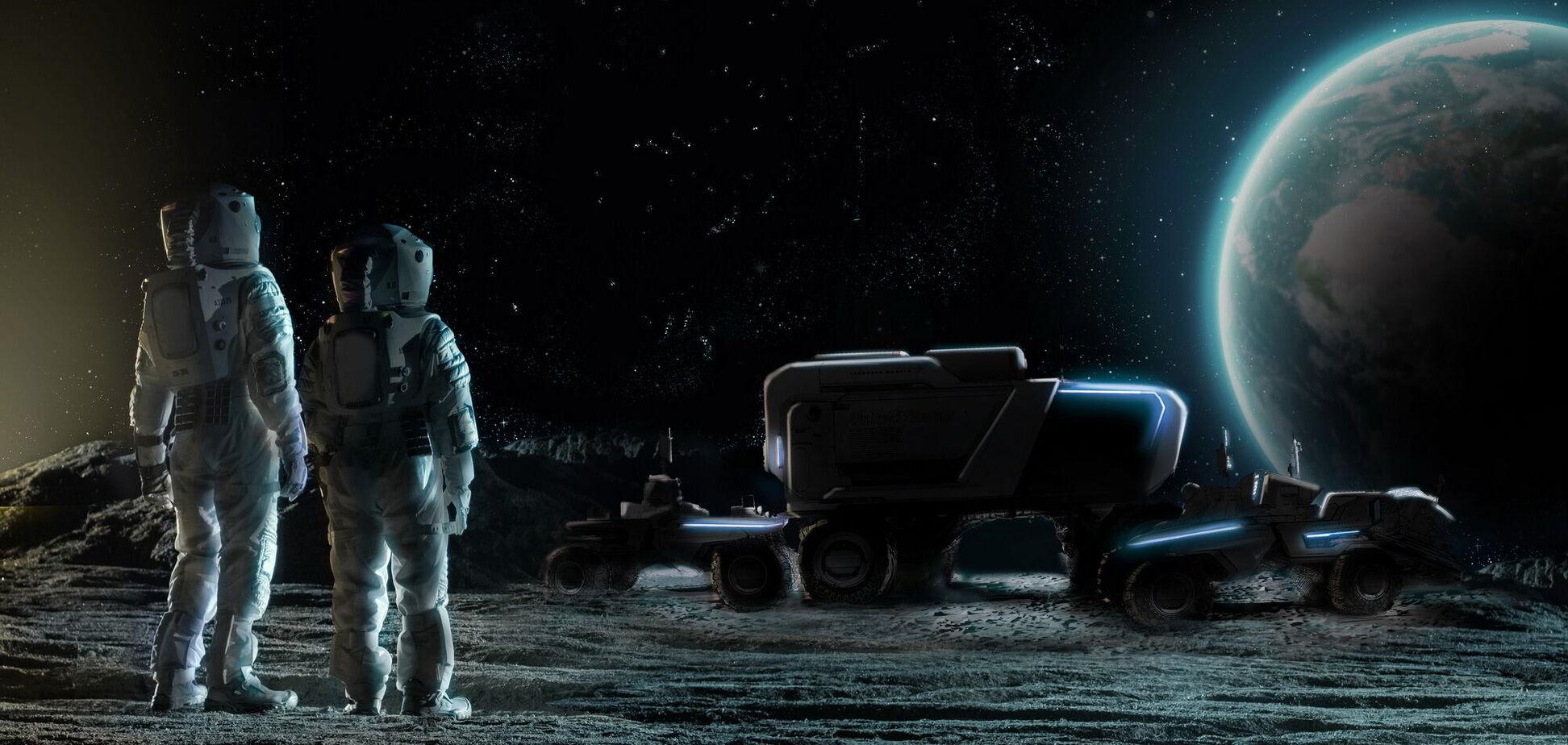 General Motors будет строить луноходы для NASA