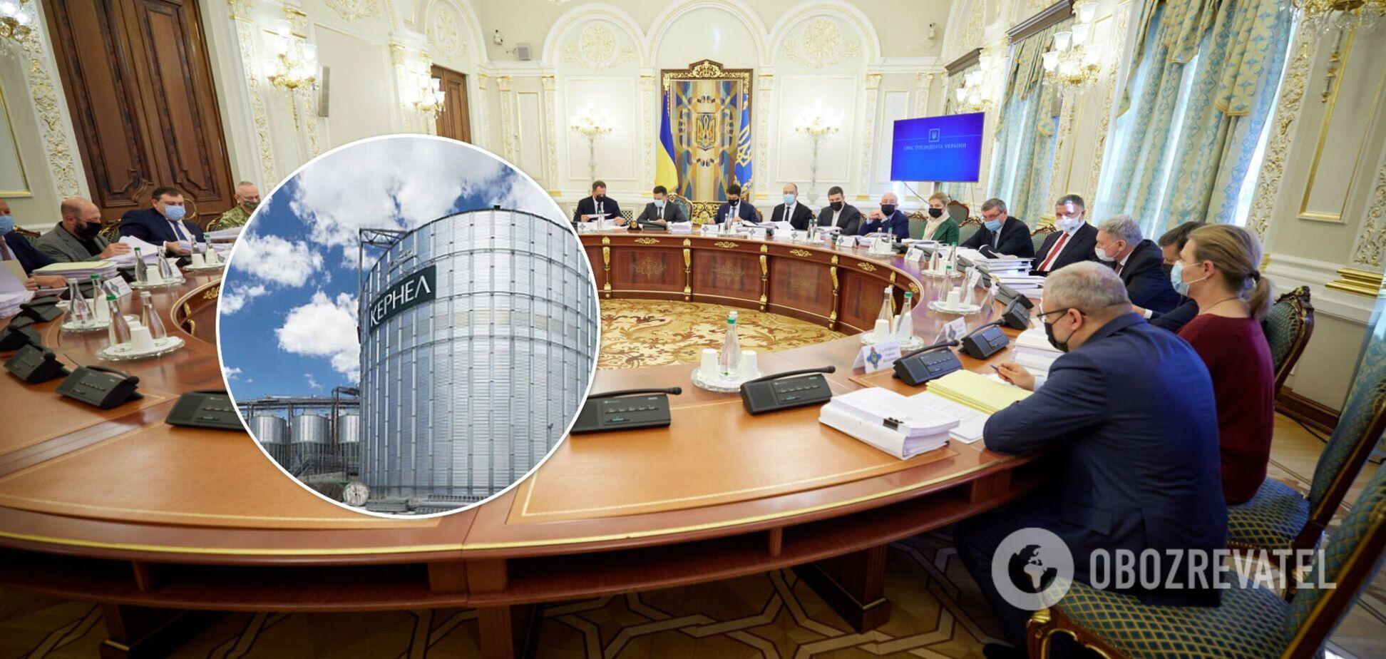 Найбільший український агрохолдинг 'Кернел Групп' Андрія Веревського може опинитись під санкціями РНБО