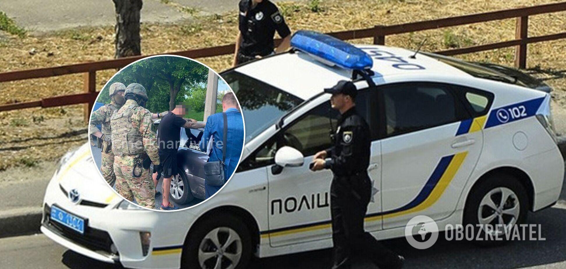 В Харькове спецназ задержал автоблогера Мистера Хама, который постоянно крыл матом патрульных. Видео 18+