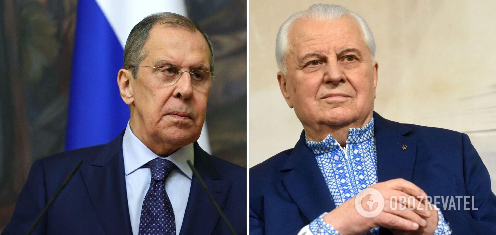 Лавров – о замене Минска для переговоров по Донбассу: это решать не Кравчуку
