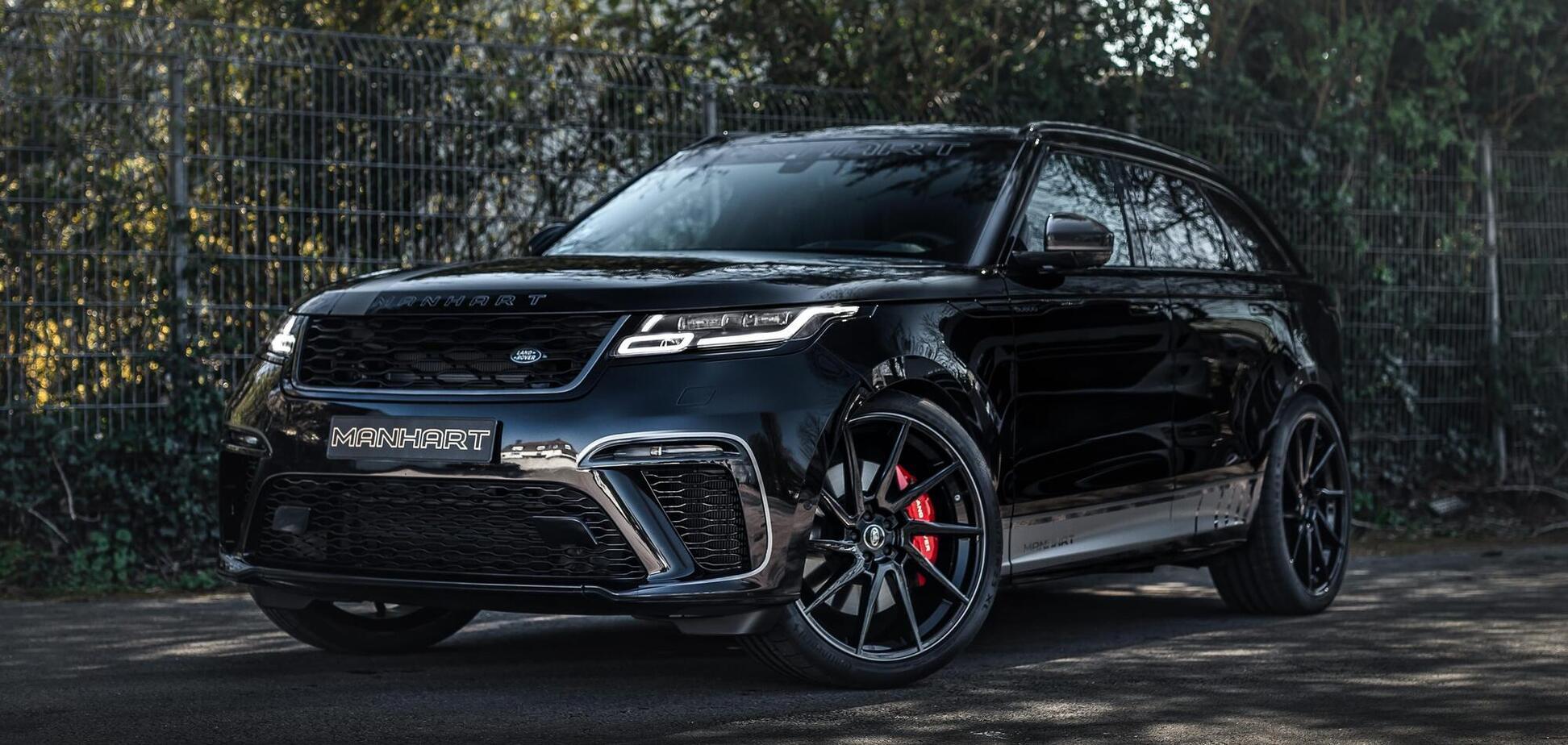 Range Rover Velar 'прокачали' и разогнали до 296 км/ч
