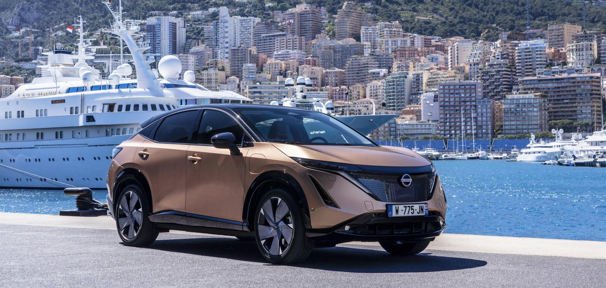 Nissan Ariya дебютував на міській трасі Formula E у Монако