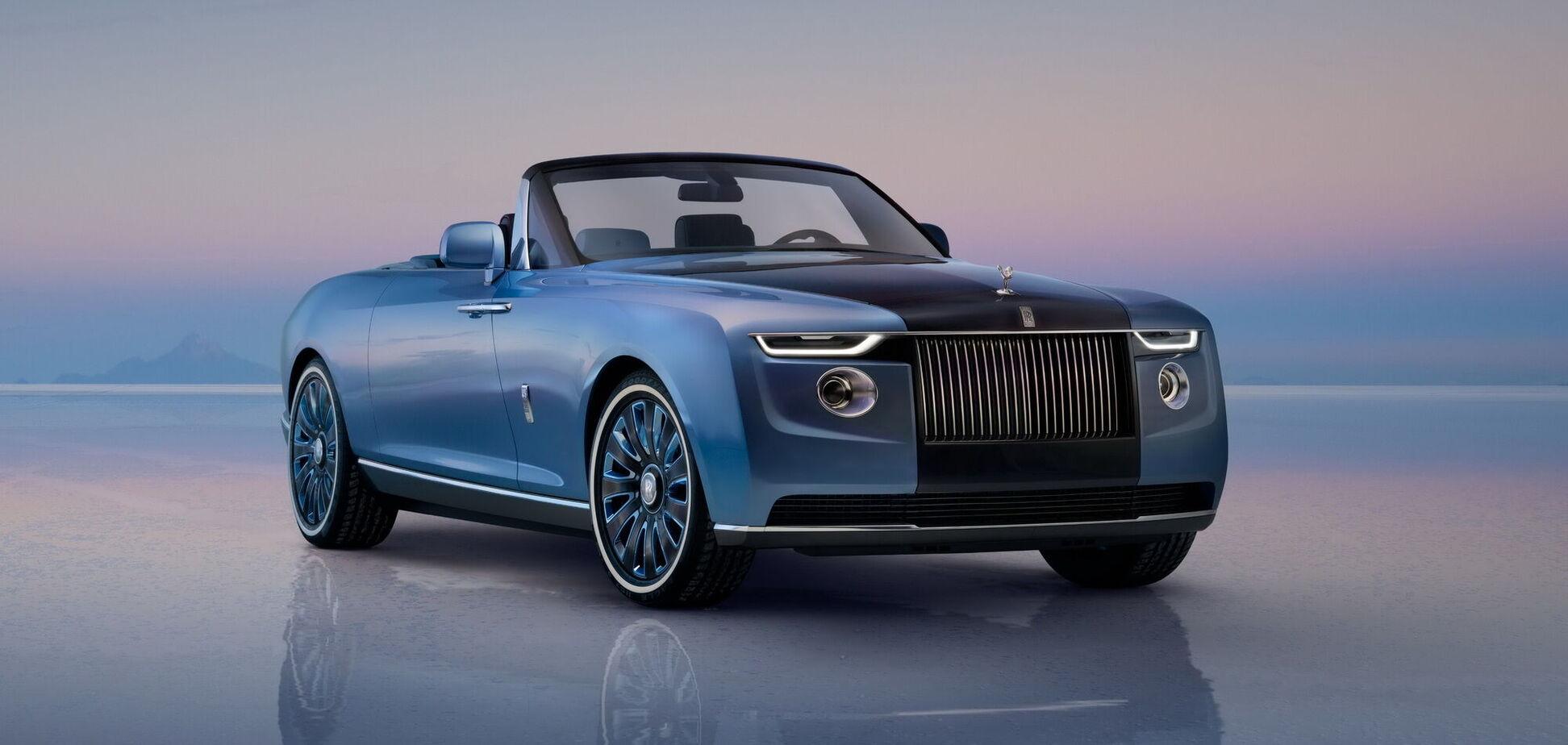 Rolls-Royce створив кабріолет Boat Tail за $28 млн
