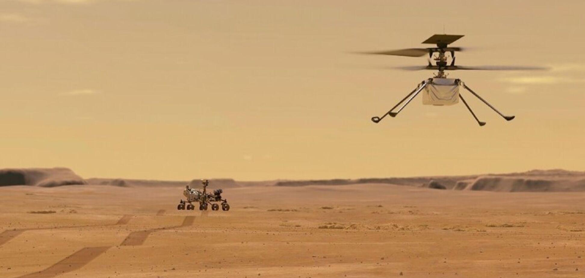 Черговий політ безпілотника NASA Ingenuity на Марсі пройшов з проблемами: що сталося