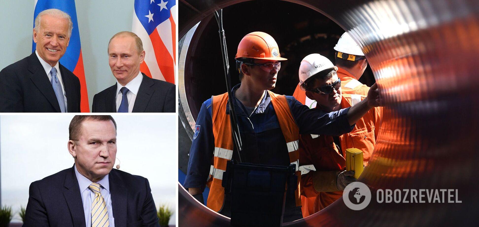 ЕкспосолУкраїни в США Олександр Моцик розповів про Північний потік-2 та зустріч Байдена і Путіна