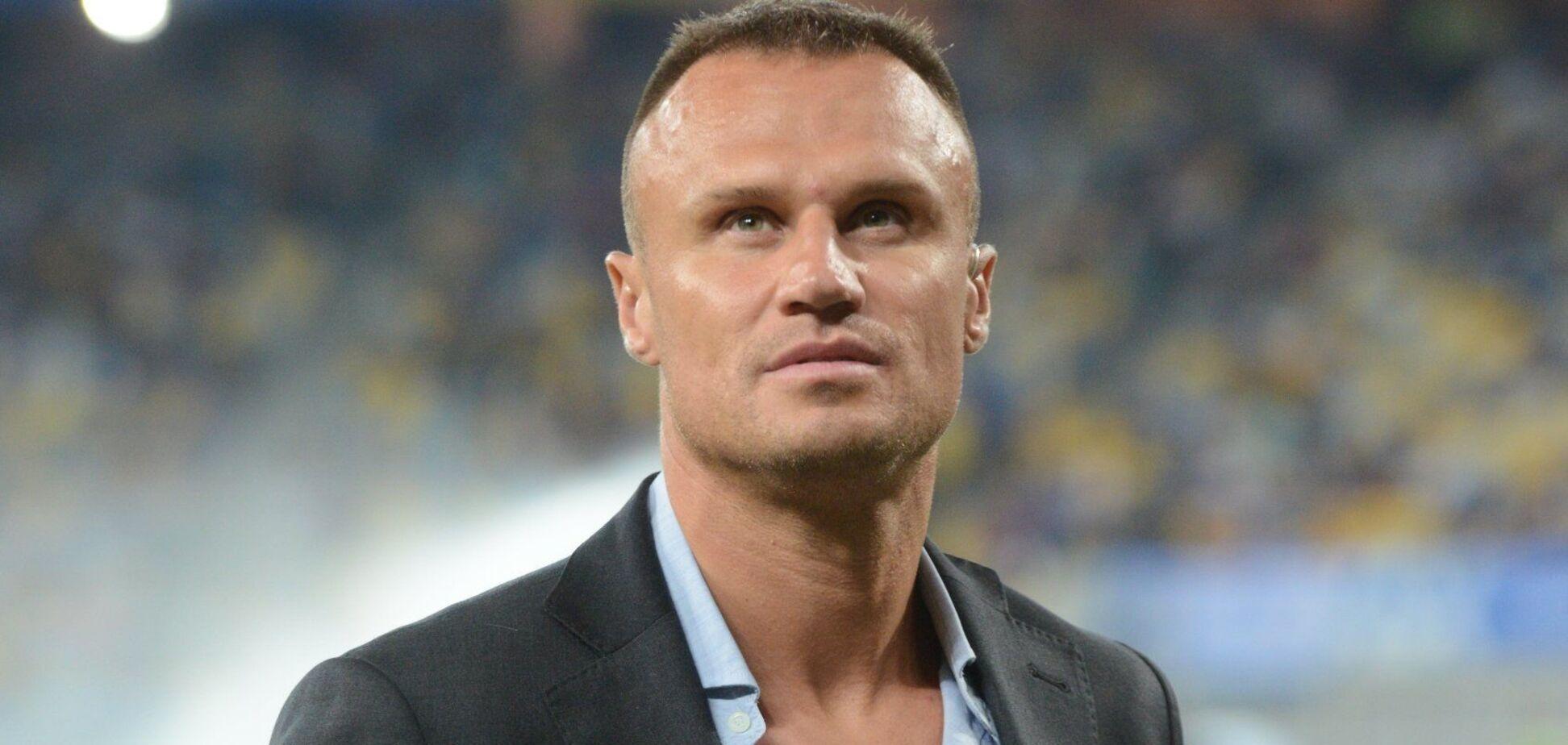 Экс-футболист Шевчук записал обращение после задержания в Киеве
