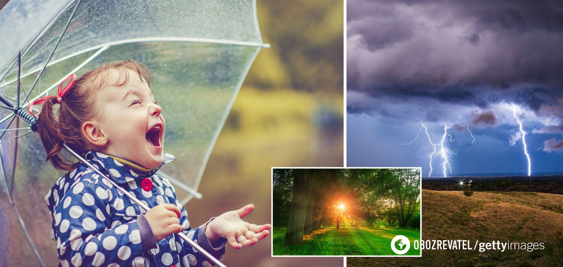 Погода на вихідні в Україні