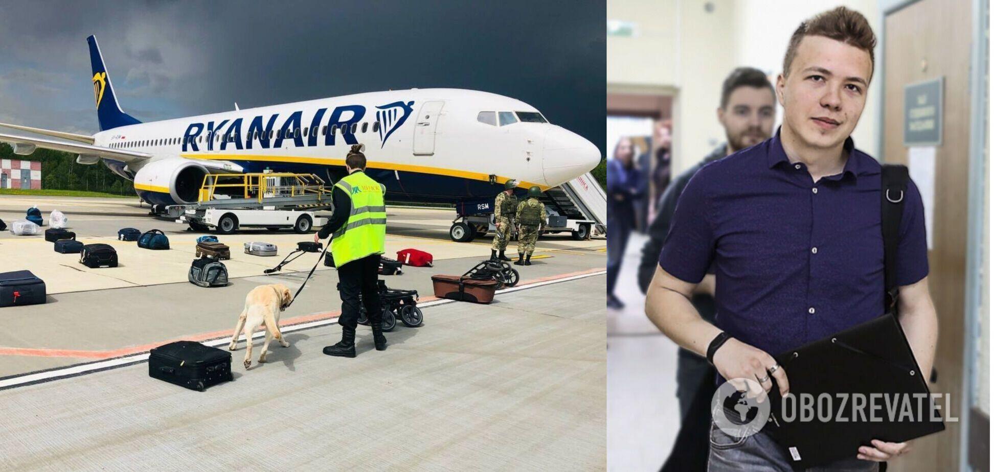 Посадка Ryanair и задержание Протасевича в Минске