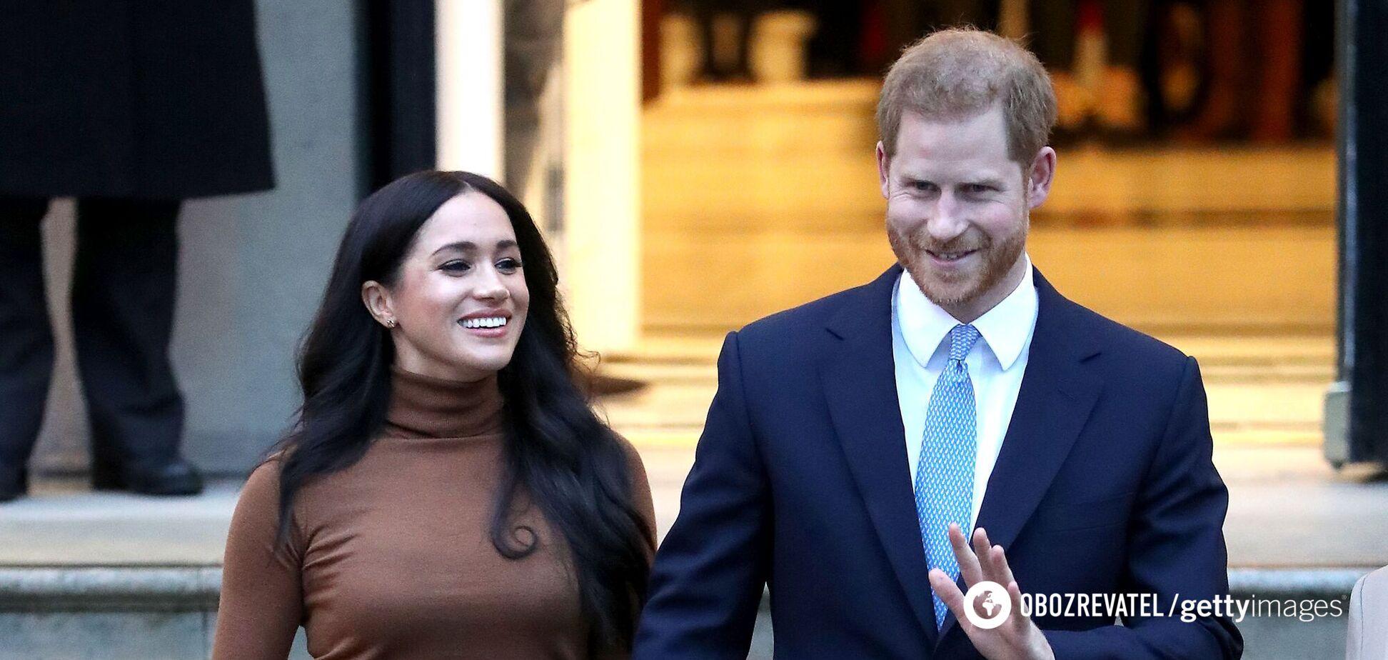 Опубліковано перші фото зі зйомок фільму про принца Гаррі і Меган Маркл