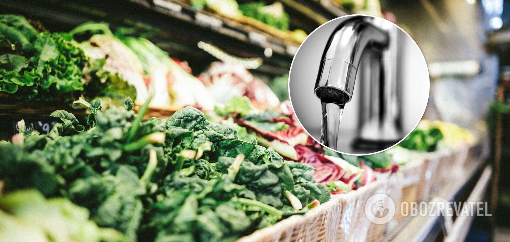 Як мити овочі та фрукти