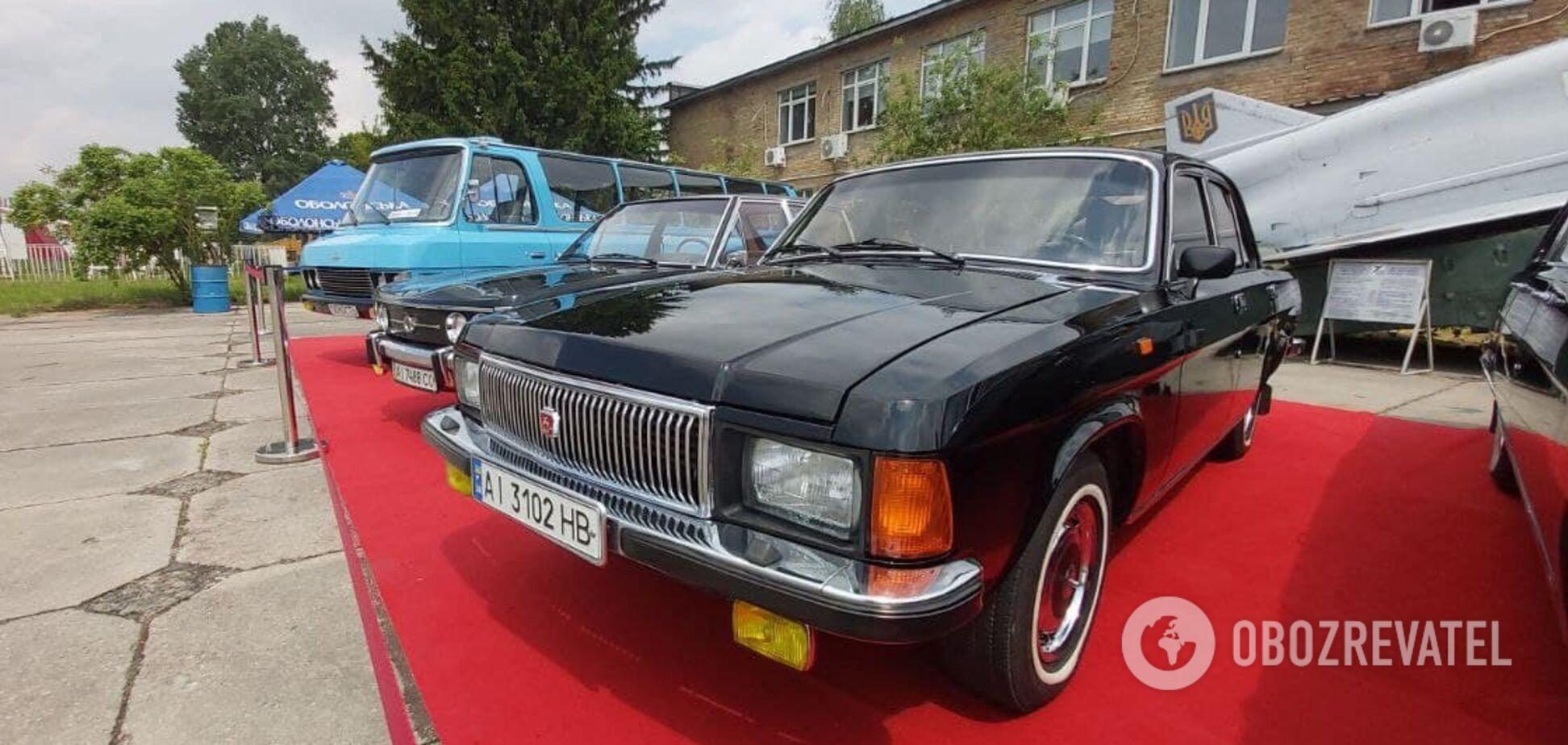 Авто Щербицького та перший ''Ford'': у Києві відкрився фестиваль ретро авто