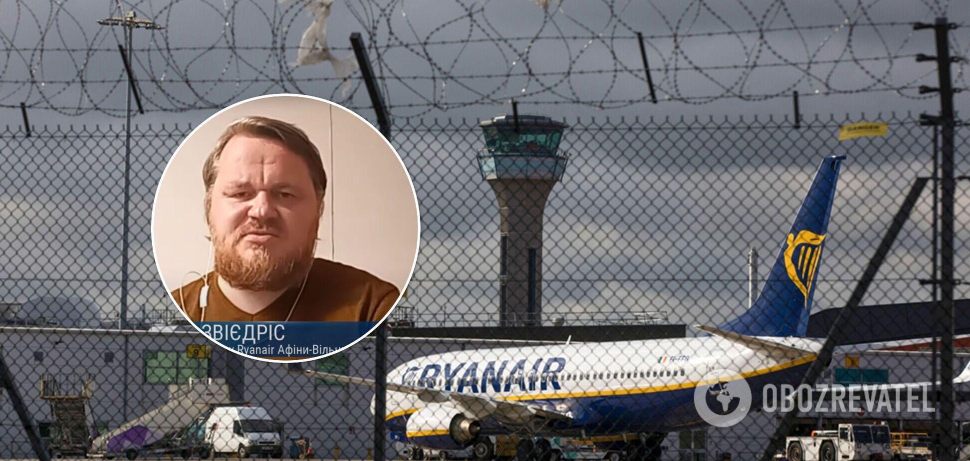 Пассажир Ryanair привел доводы, почему на борту рейса Афины-Вильнюс не было бомбы