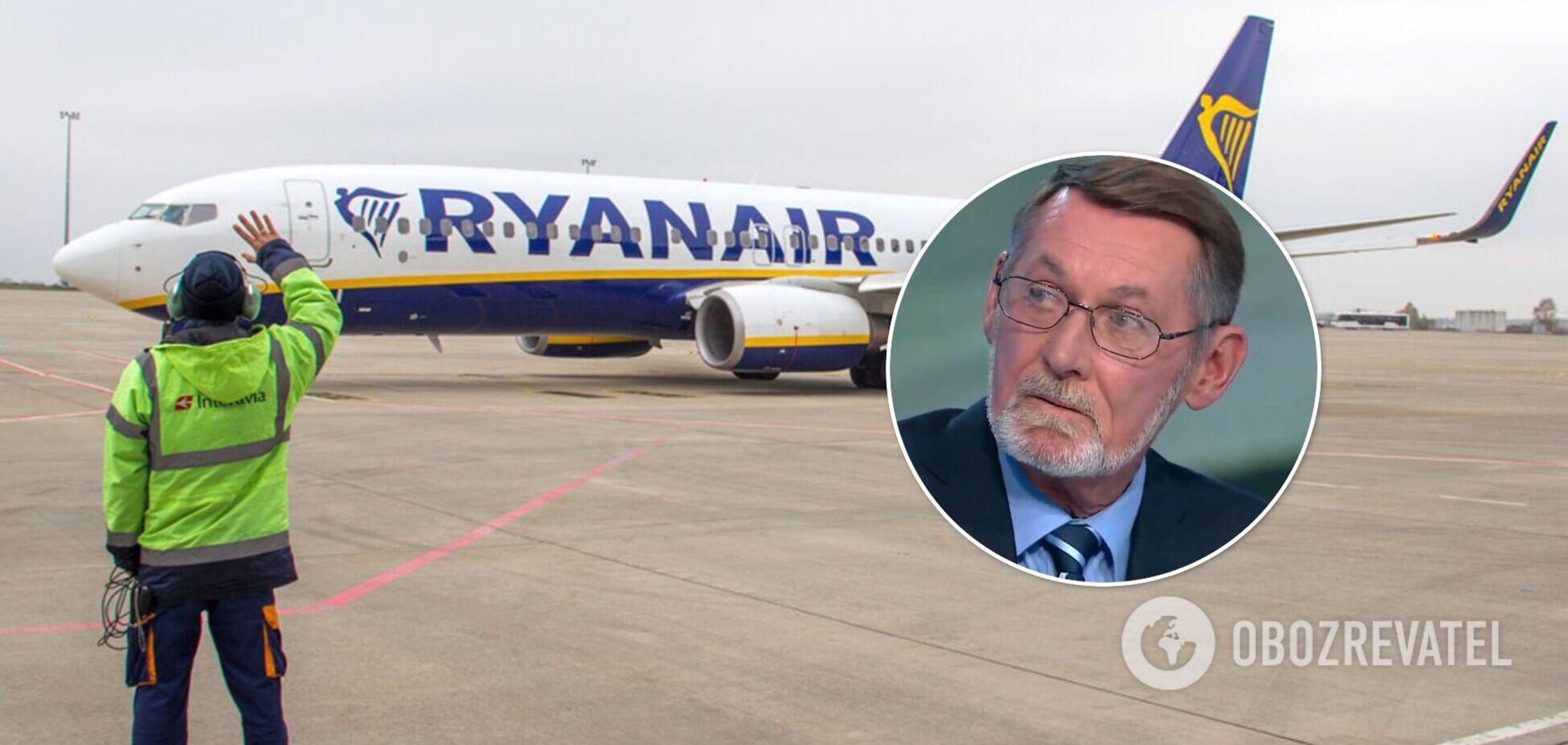 Александр Лиходед оценил инцидент с Ryanair