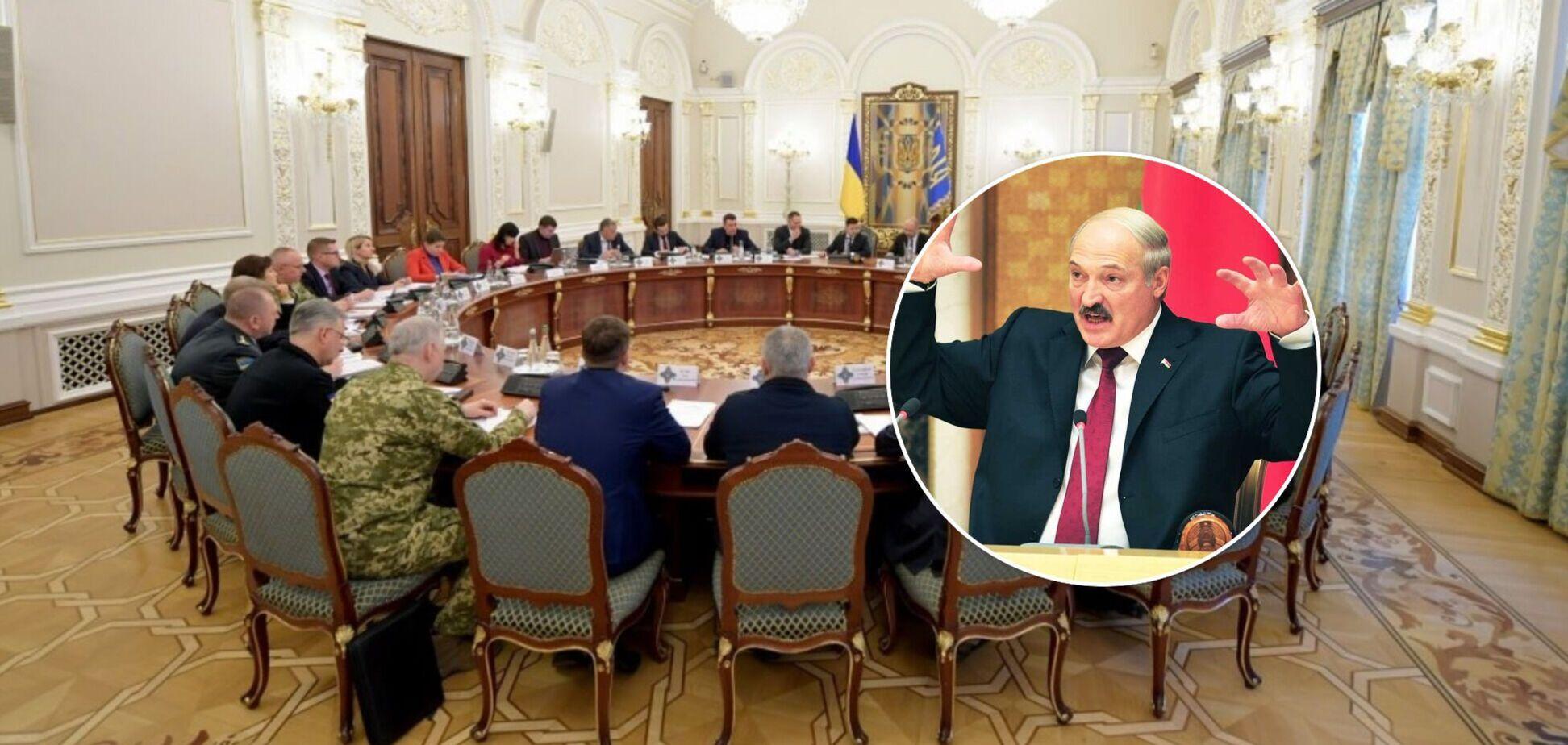 Санкції РНБО проти режиму Лукашенка