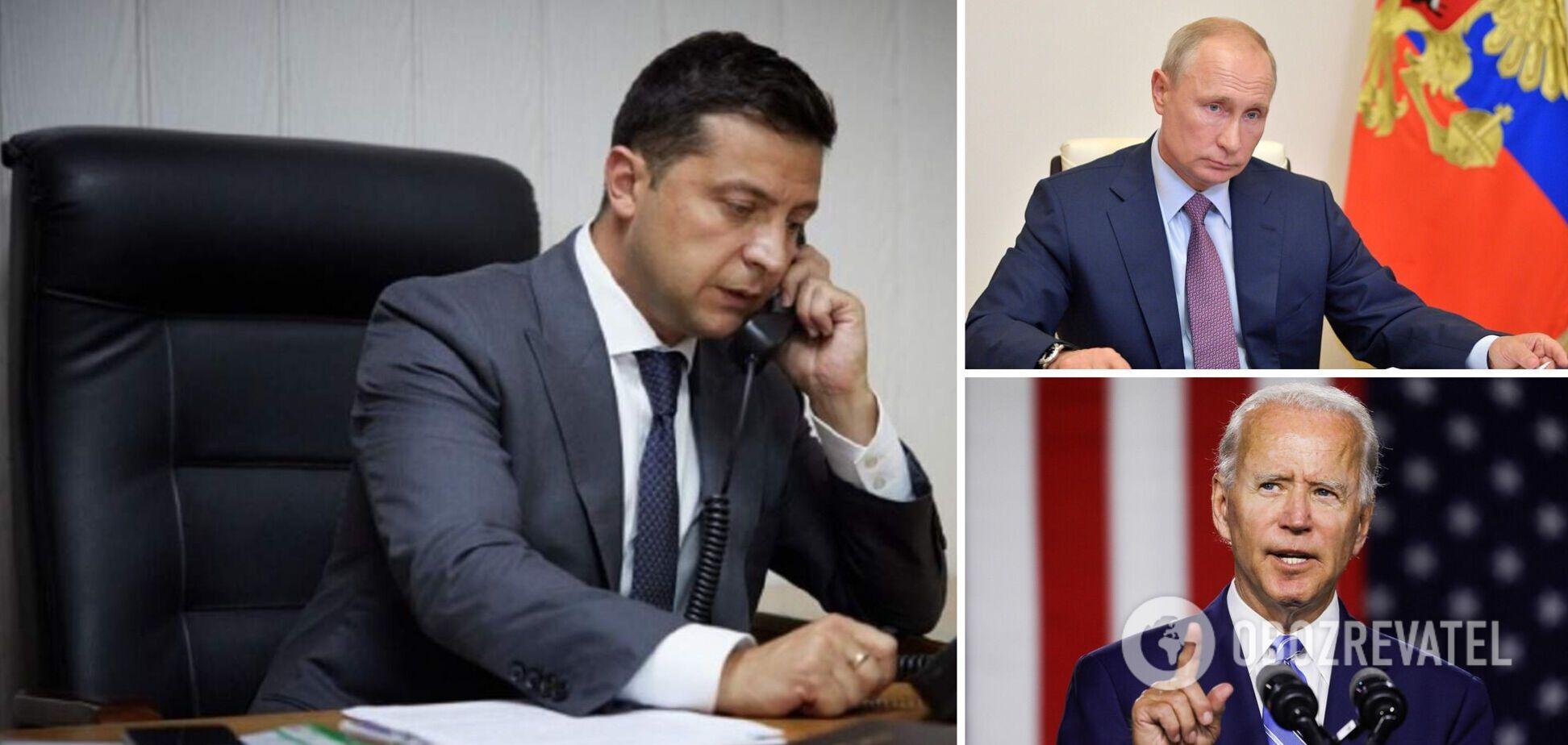 Зеленский переговорит с Байденом перед его встречей с Путиным – МИД