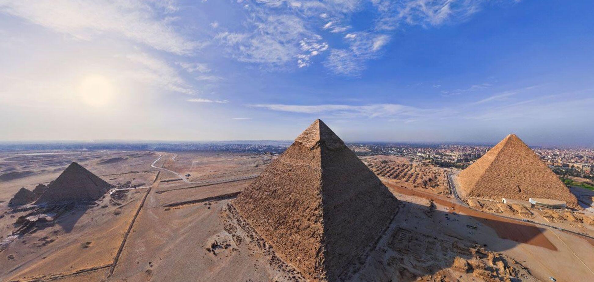 Знайдено ключ до розгадки таємниці будівництва великої піраміди Хеопса