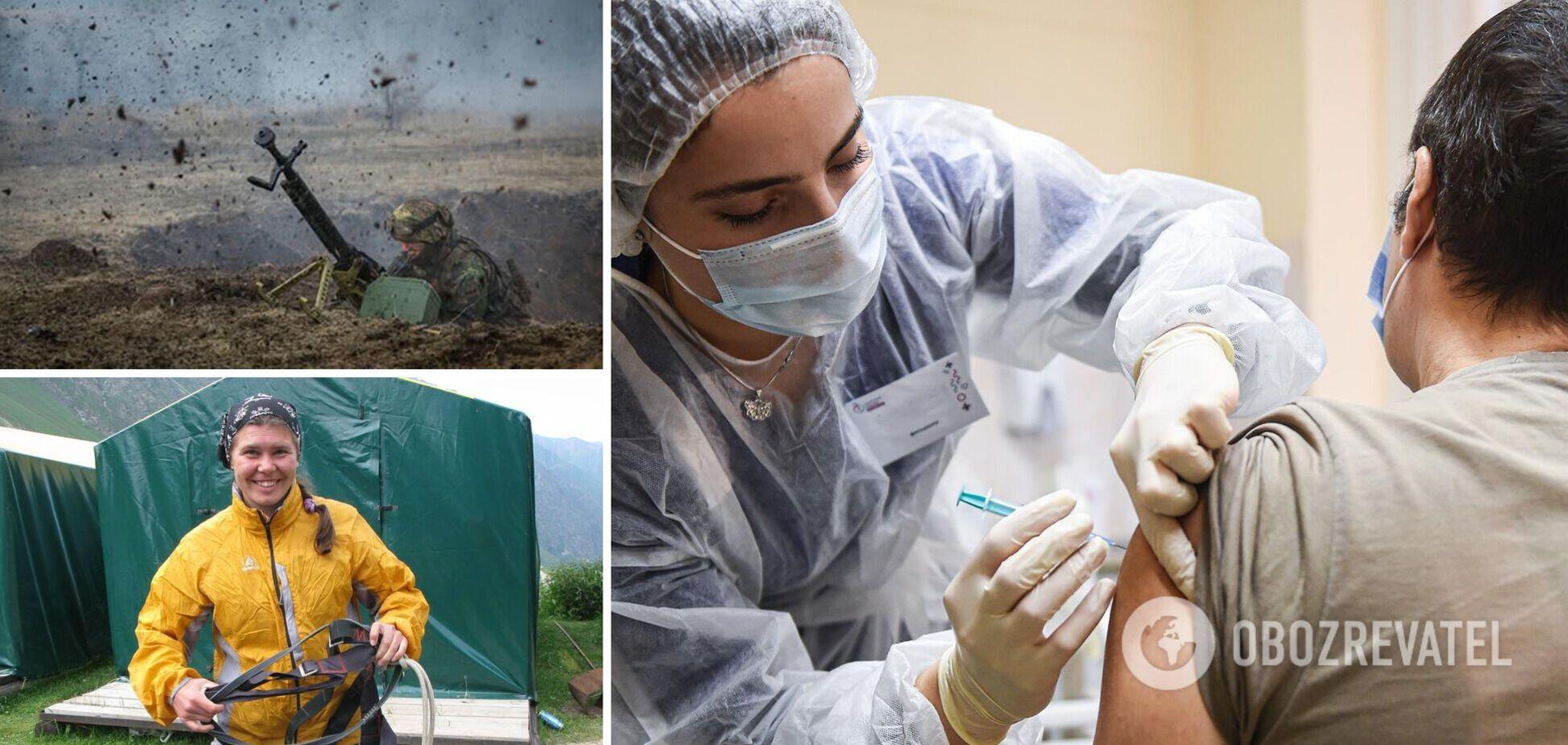 Новости Украины за 29 мая: в Киеве массово вакцинируют людей, а на Донбассе обстреляли украинских военных