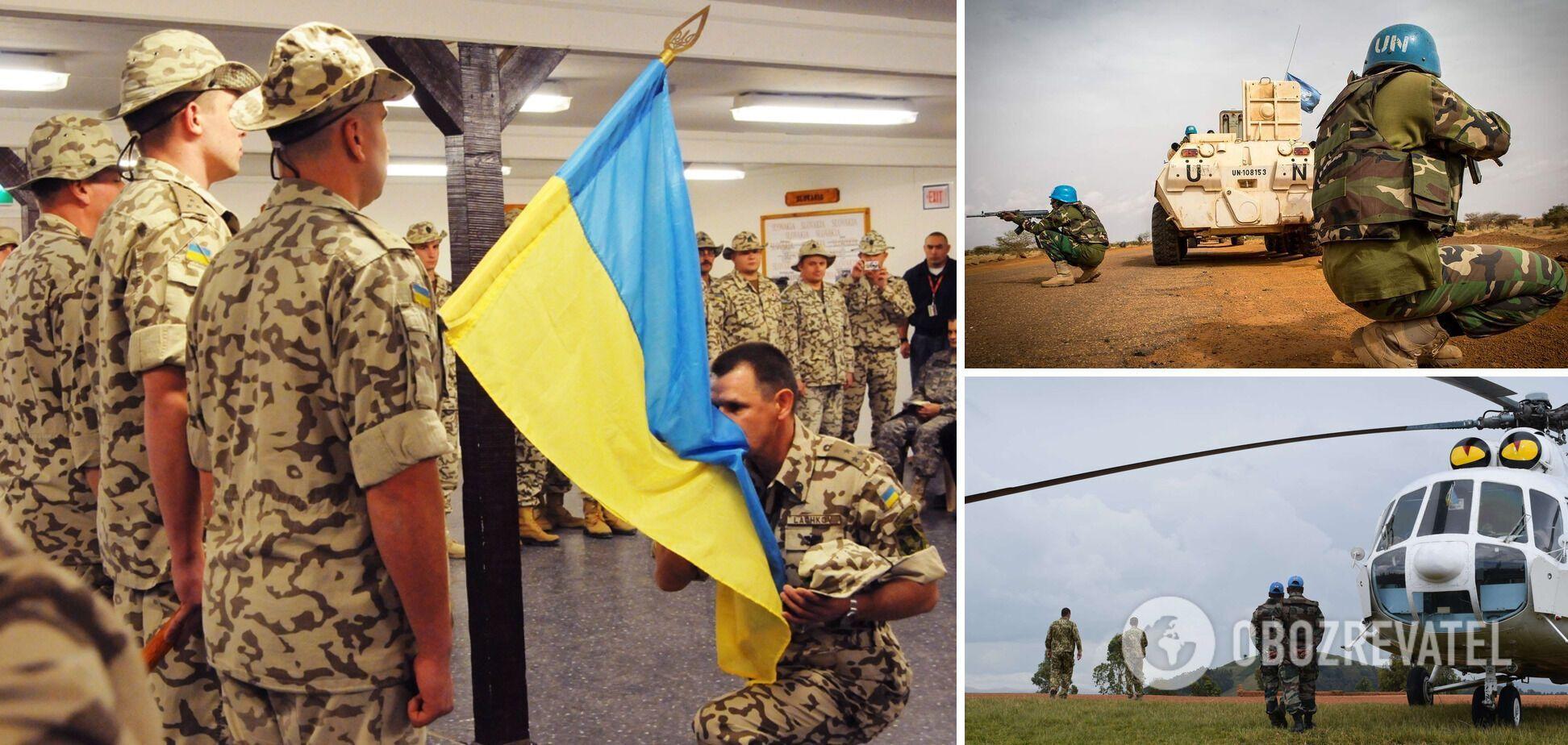 Порошенко заявив про право України на миротворчу місію під егідою ООН