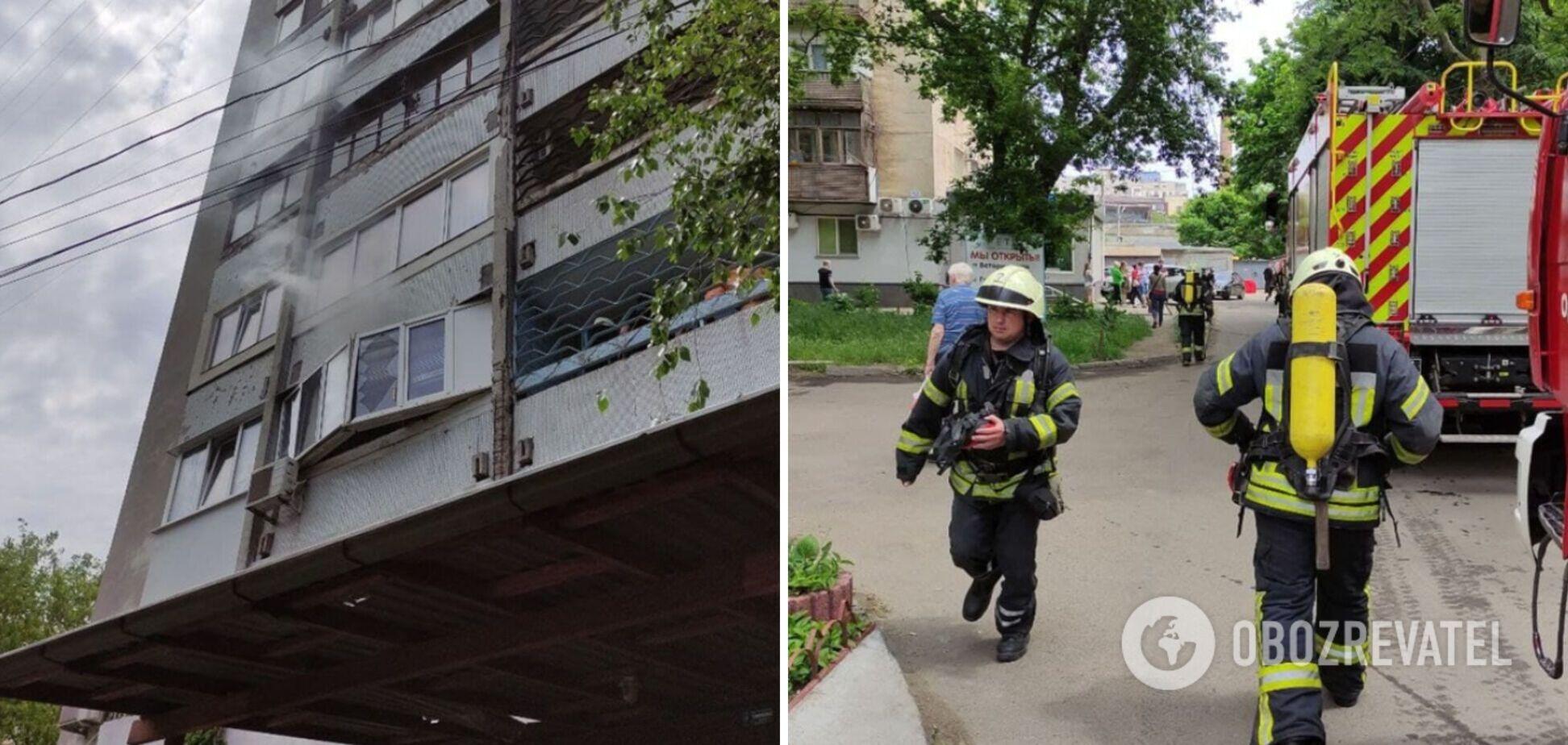В Одесі стався вибух у багатоповерхівці