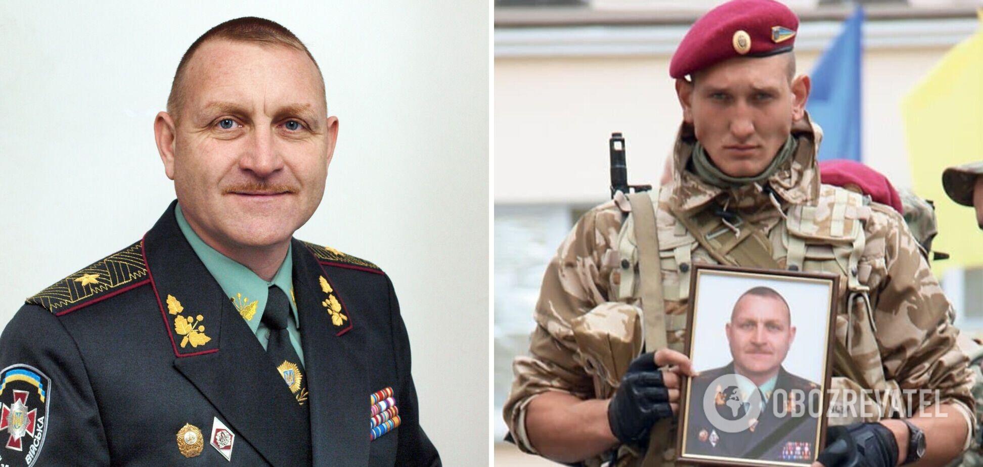 В Украине почтили память генерала Кульчицкого, погибшего на Донбассе 7 лет назад. Видео