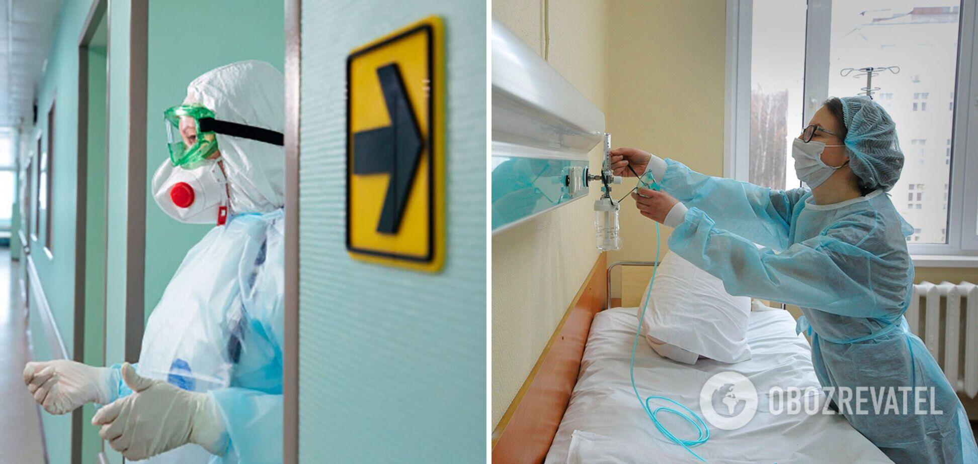 Заполненность койко-мест в больницах