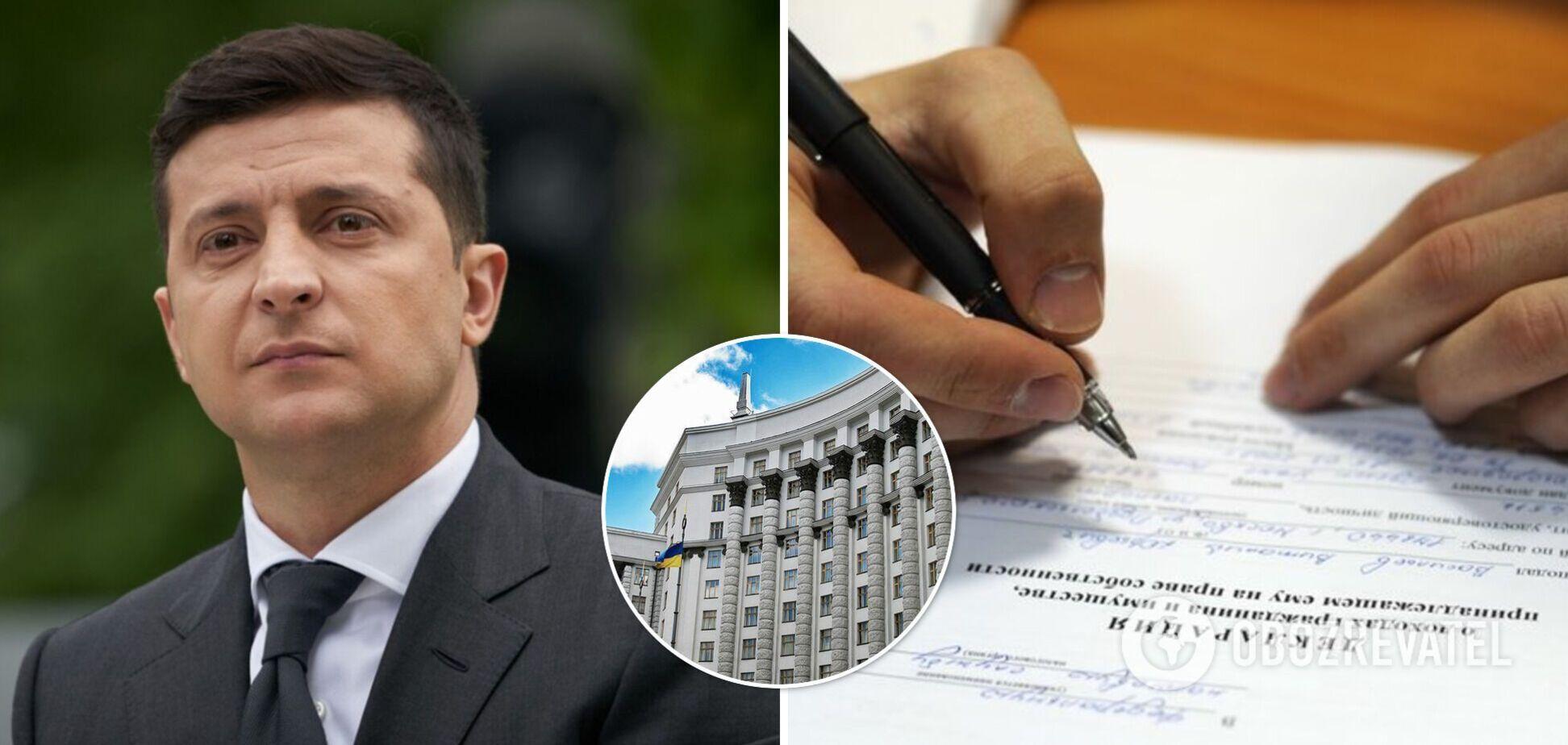 Зеленский подписал закон по изменениям в декларировании, но призвал Кабмин усовершенствовать процедуру