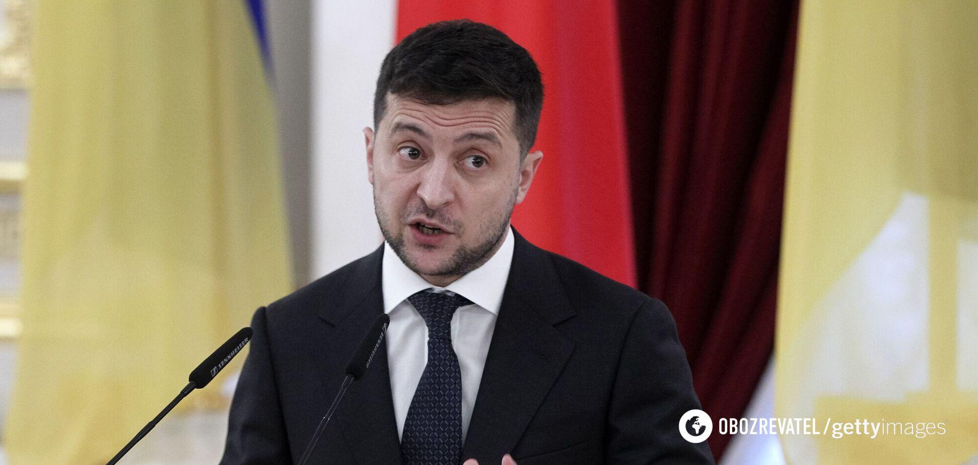 Зеленський у Польщі виступив із промовою про Майдан та агресію Росії. Відео