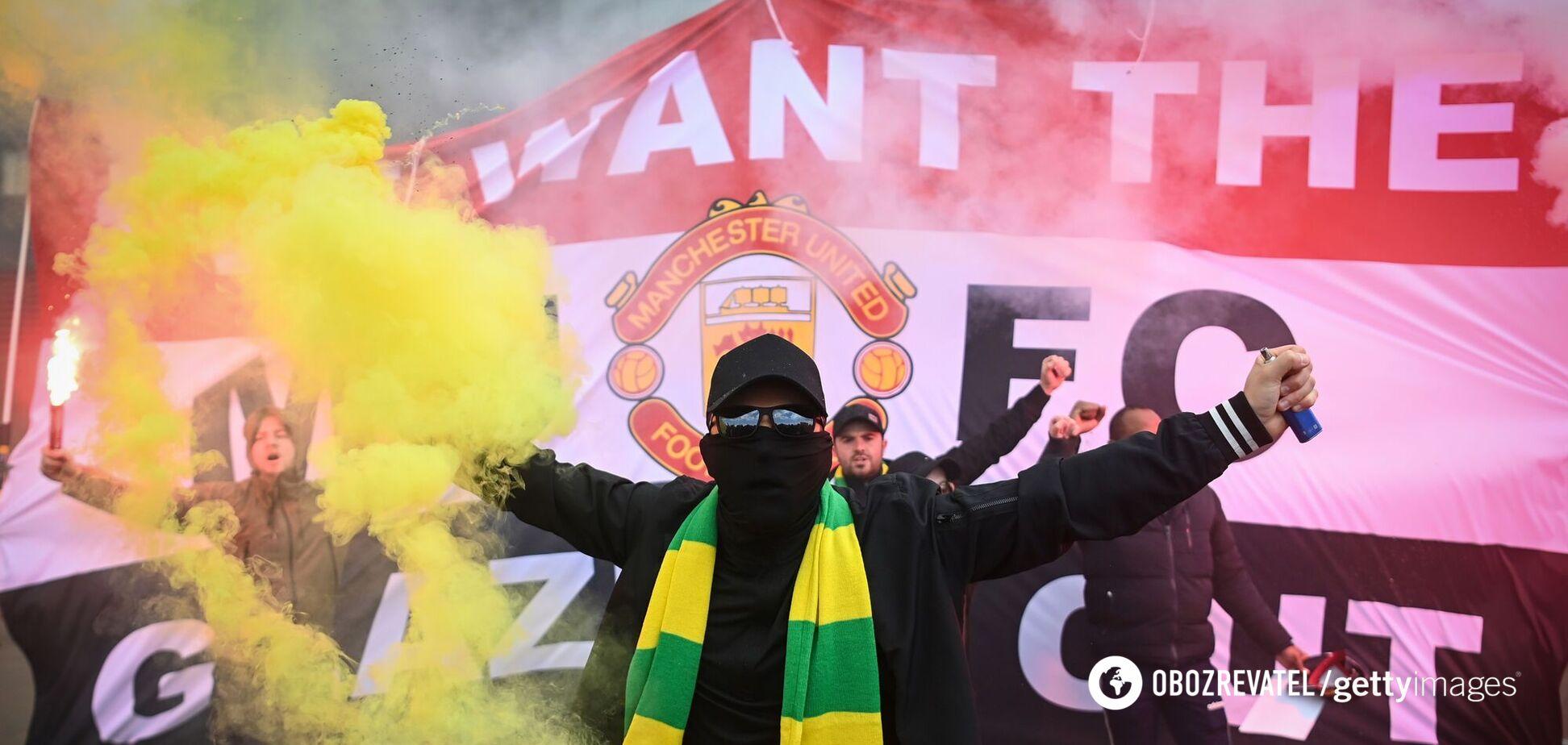 Фанат 'Манчестер Юнайтед'