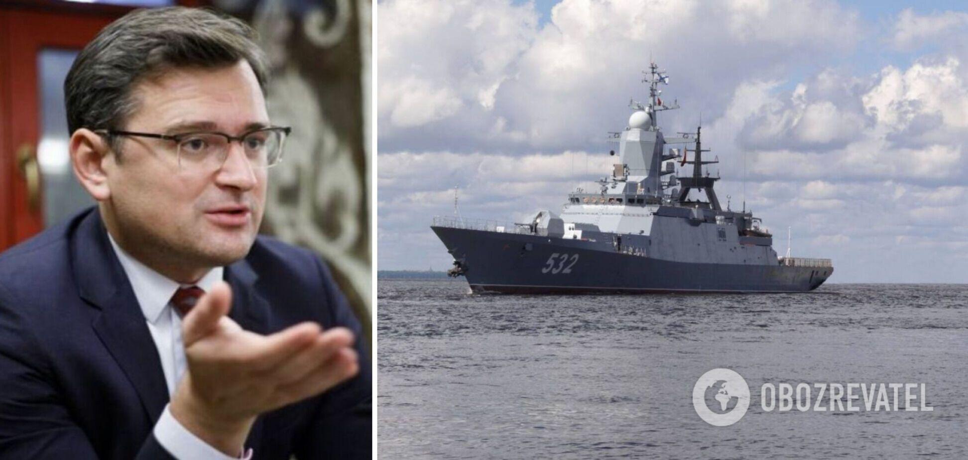 В МИД заявили о существенной угрозе для Украины в Азовском море