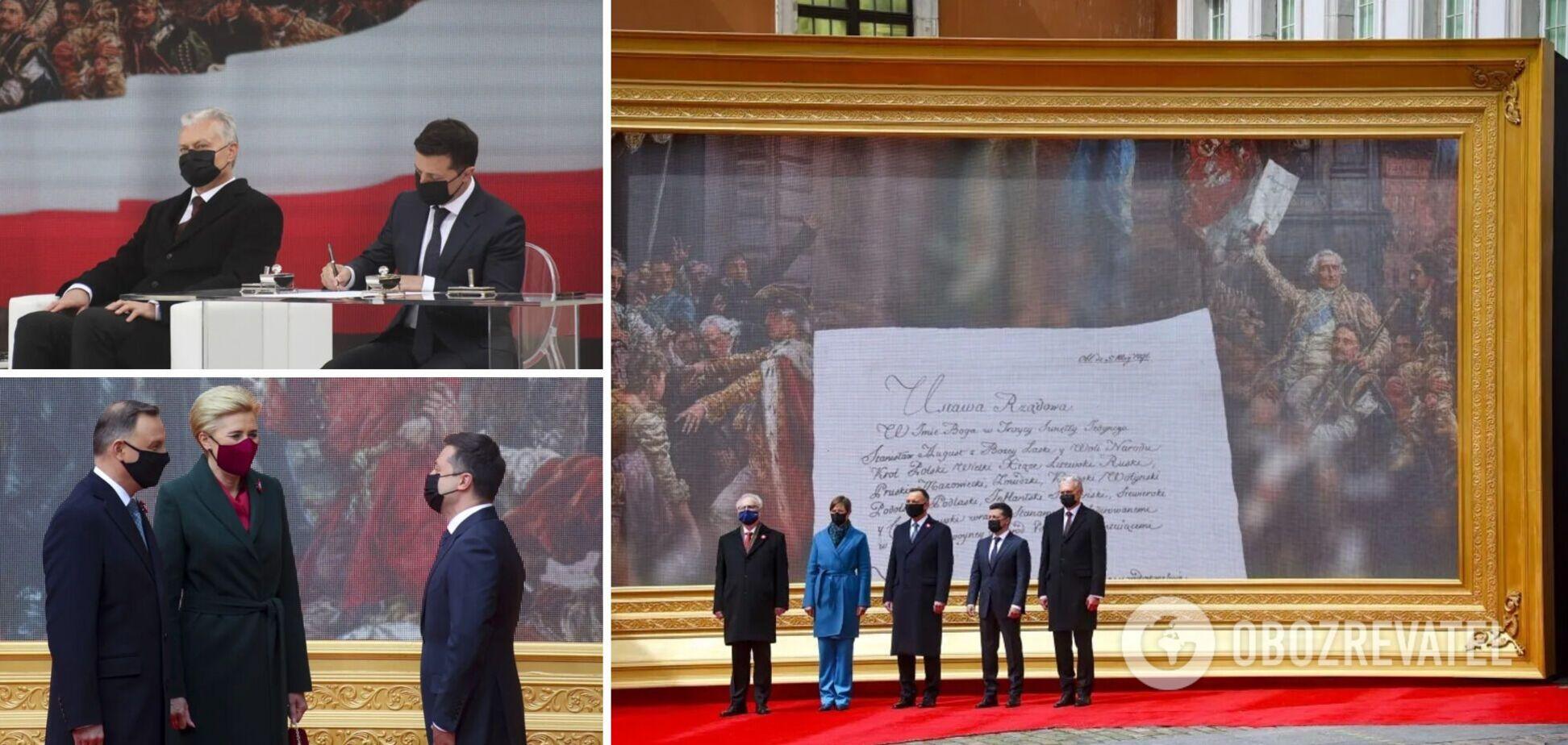 Візит Зеленського в Польщу: головні заяви лідерів країн про Україну