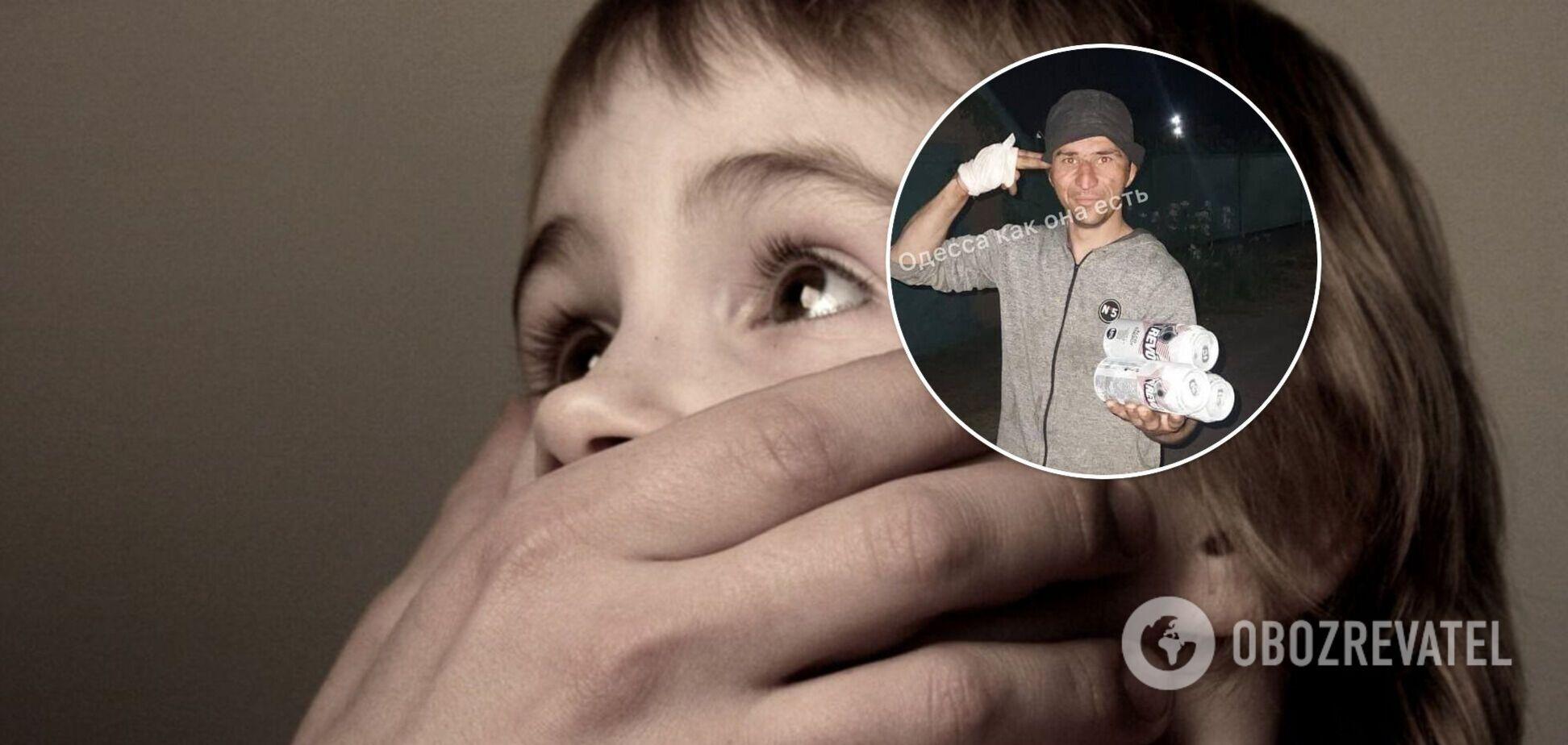 На Одесчине мужчина изнасиловал восьмилетнюю девочку. Фото подозреваемого