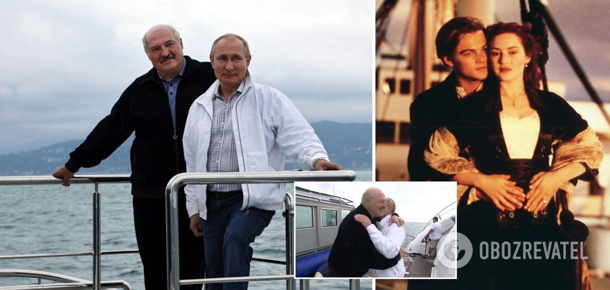 Зустріч Путіна й Лукашенка