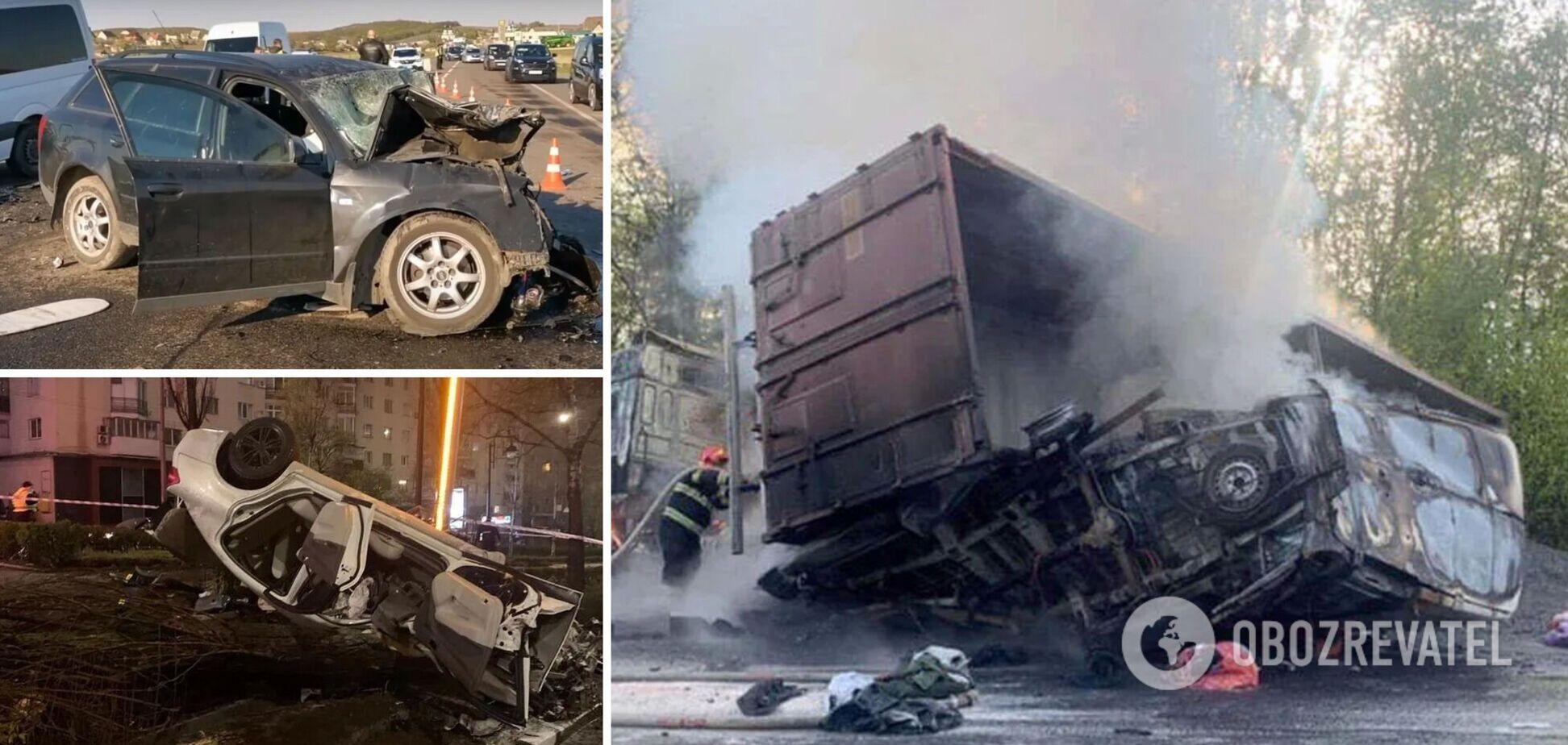 «Война на дорогах» Украины продолжается