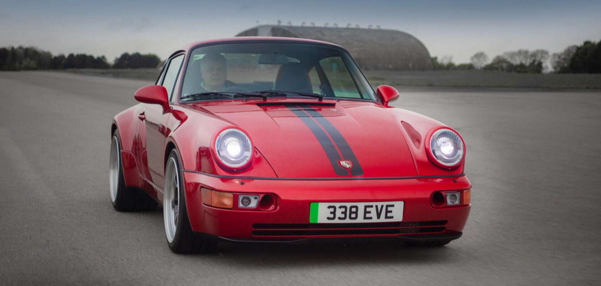 Классический Porsche 911 превратили в электромобиль