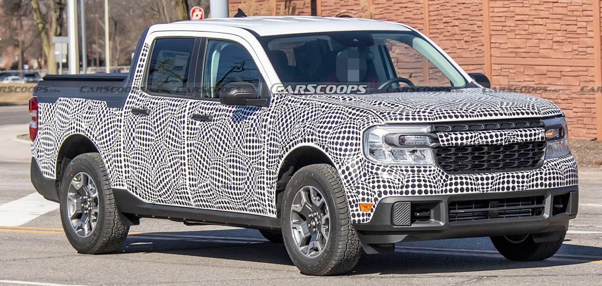 Ford готовит новый компактный пикап Maverick