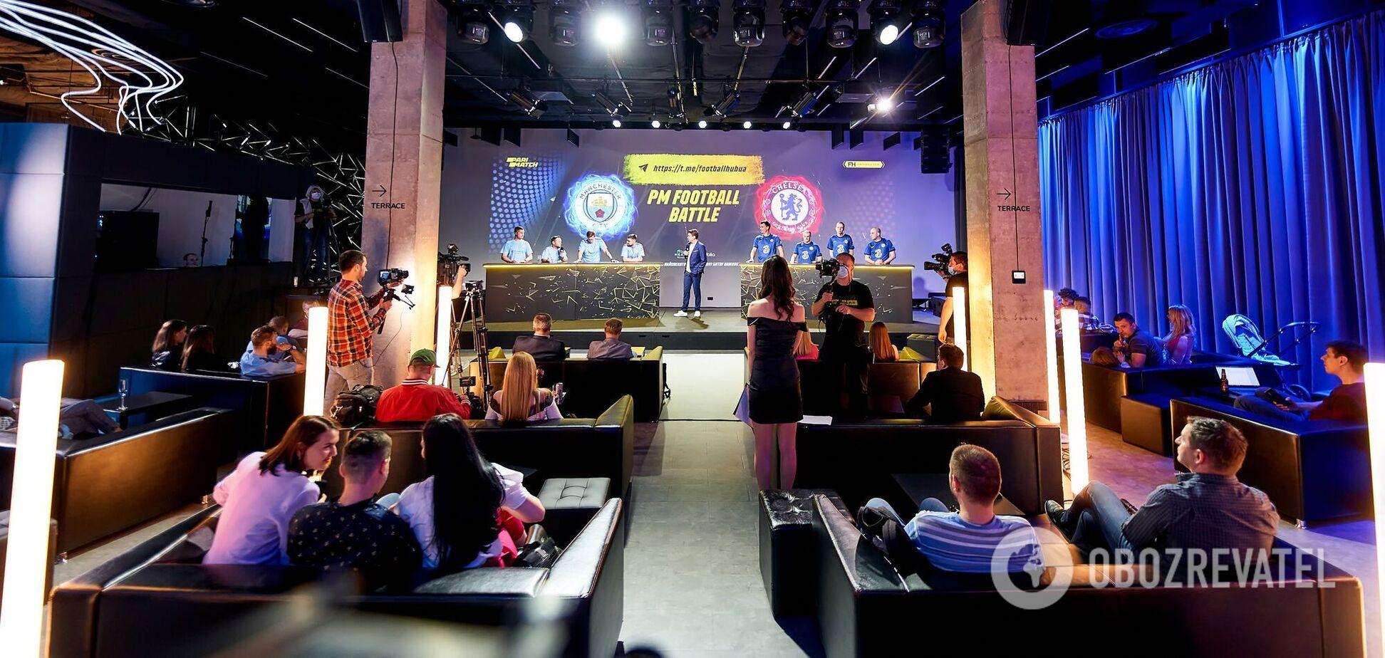 Перед фіналом Ліги чемпіонів фани 'Манчестер Сіті' і 'Челсі' взяли участь в PM Football Battle