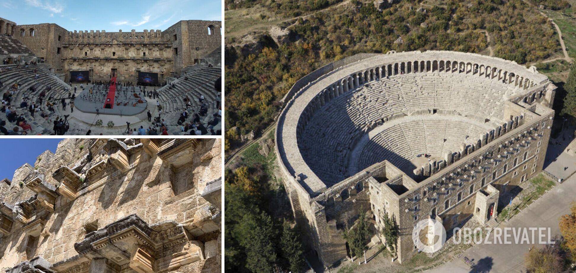 Античне 'обличчя' Туреччини: чому туристам варто побачити римський театр Аспендос