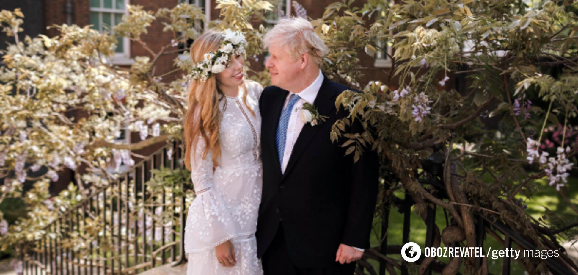 Премьер Британии Борис Джонсон тайно женился