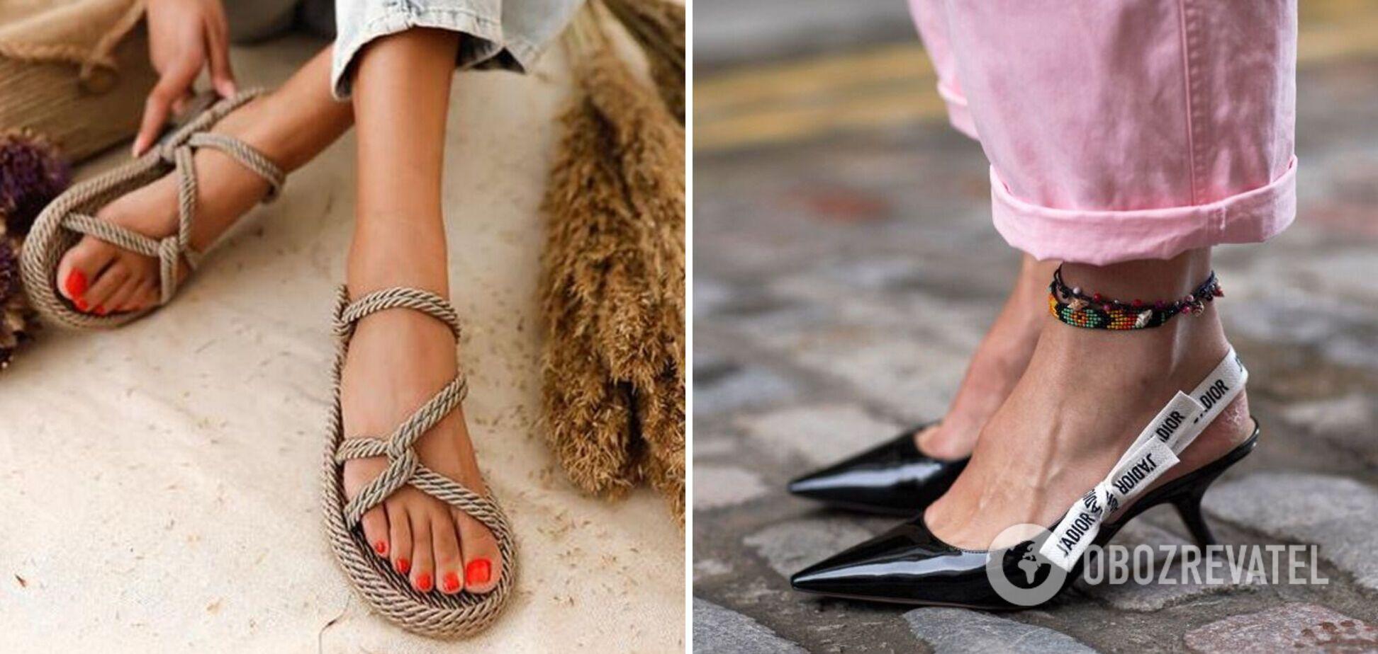 Модне взуття на літо 2021